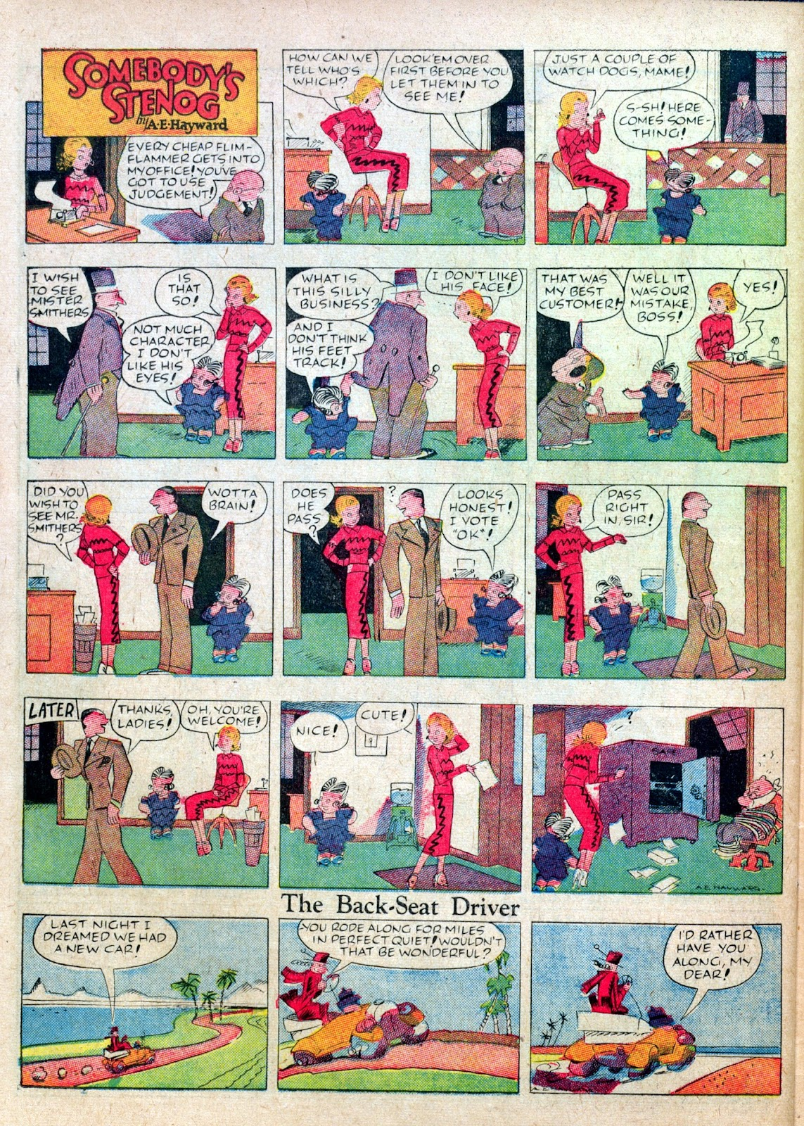 Read online Famous Funnies comic -  Issue #45 - 48