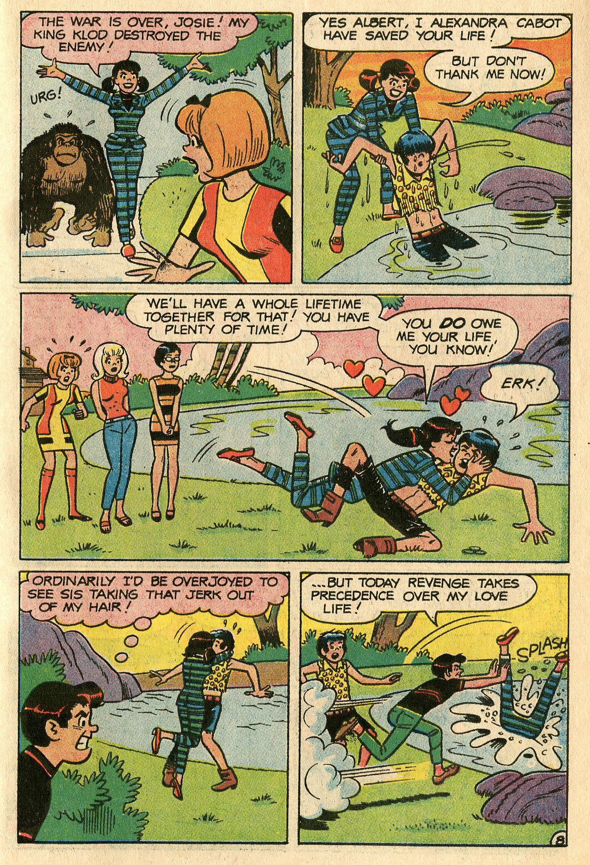 Read online She's Josie comic -  Issue #29 - 31