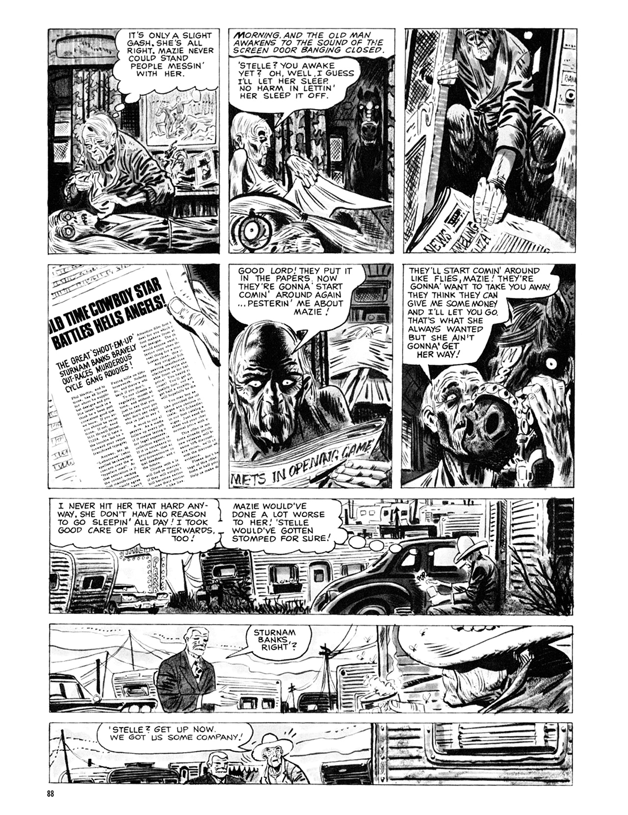 Read online Eerie Archives comic -  Issue # TPB 9 - 89