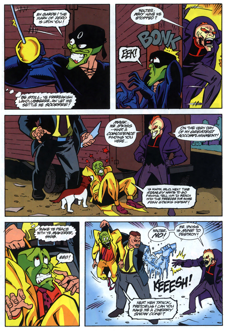 Read online Adventures Of The Mask comic -  Issue #5 - 19