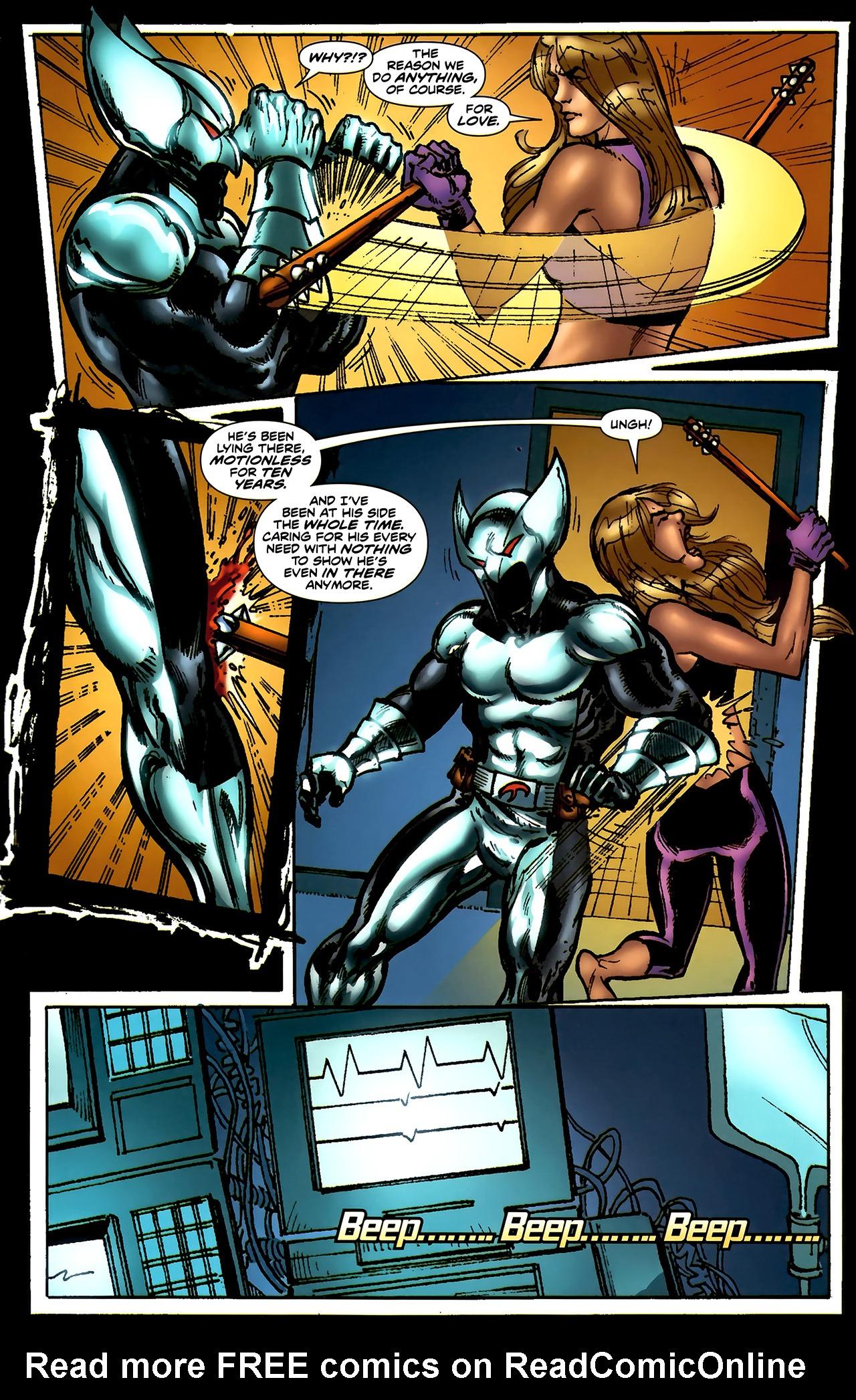 Read online ShadowHawk (2010) comic -  Issue #4 - 20