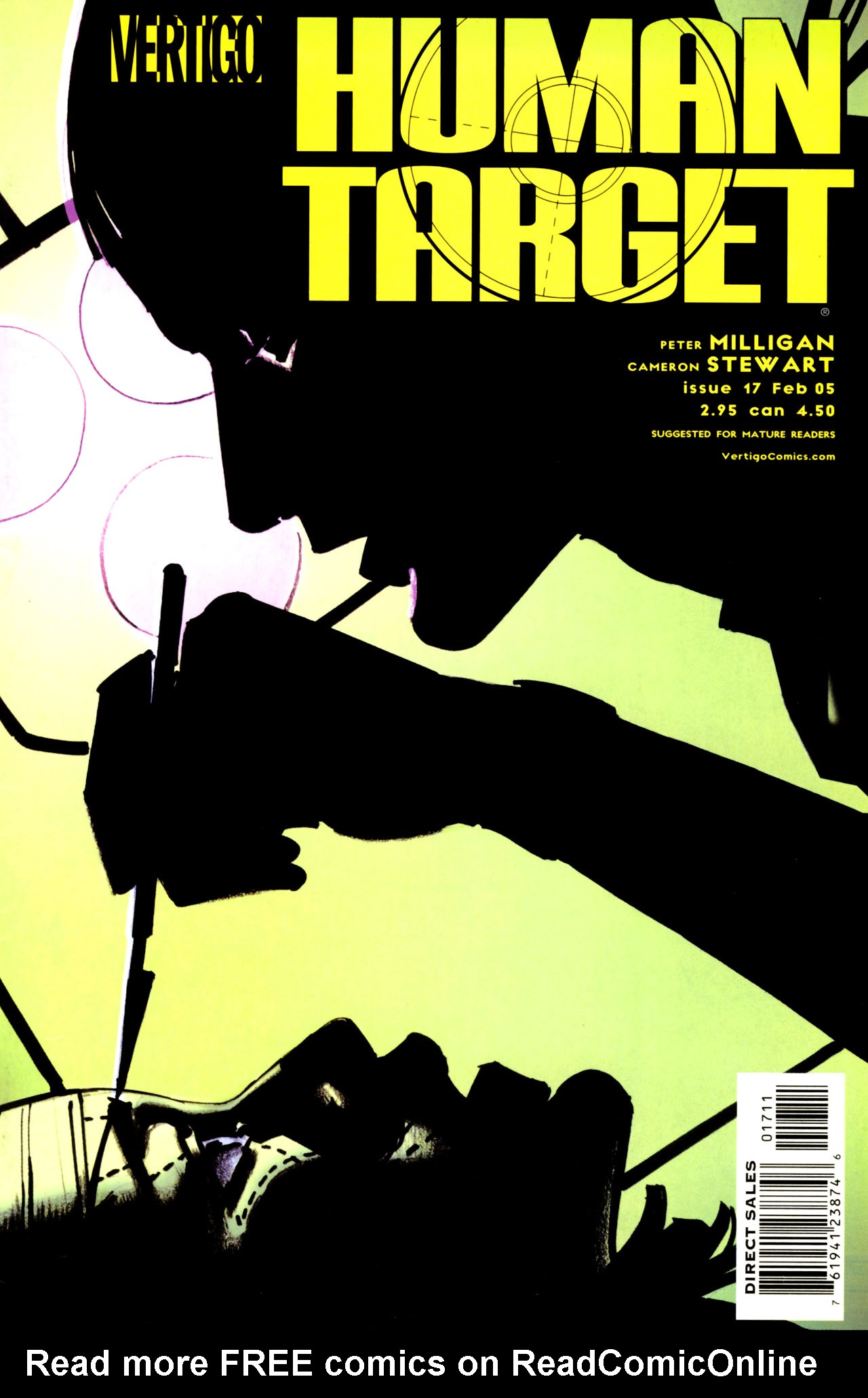 Human Target (2003) issue 17 - Page 1