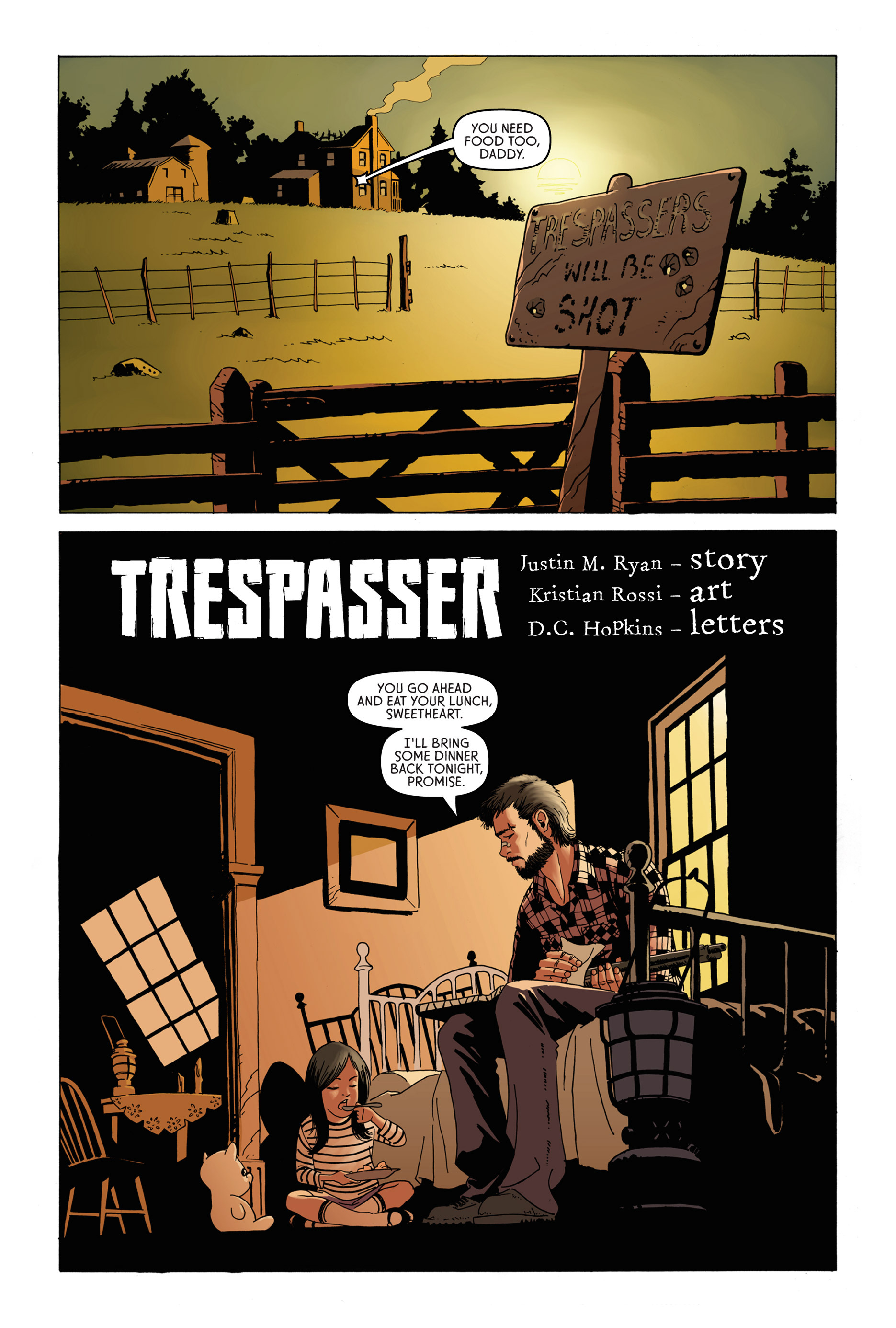 Read online Trespasser comic -  Issue #1 - 2