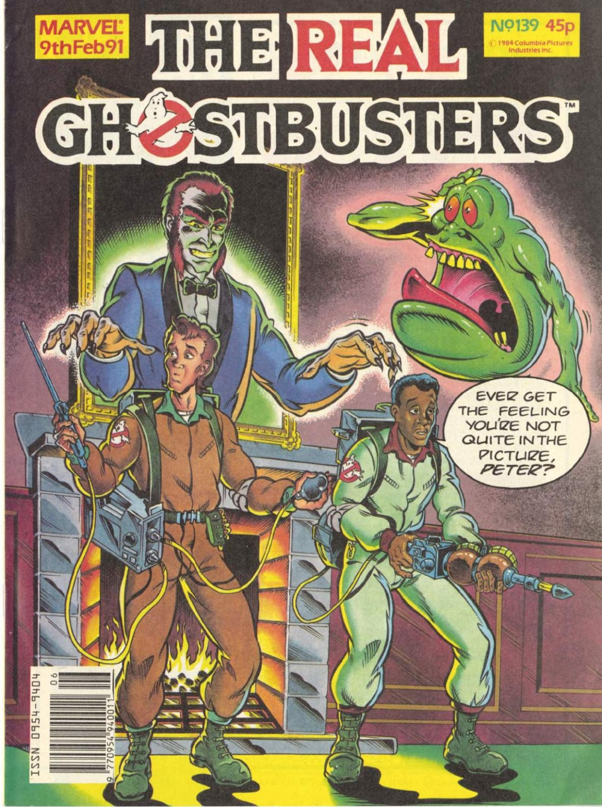 The Real Ghostbusters 139 Page 1