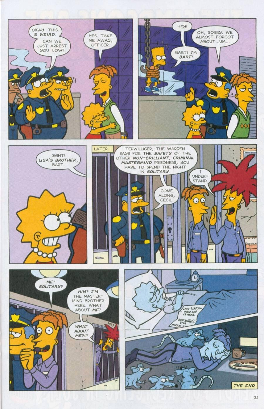 Read online Simpsons Comics comic -  Issue #71 - 22