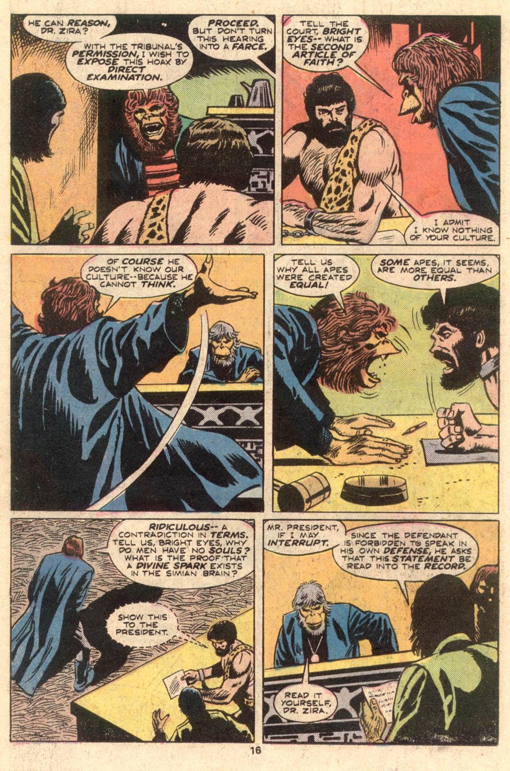 Read online Adventures on the Planet of the Apes comic -  Issue #4 - 11