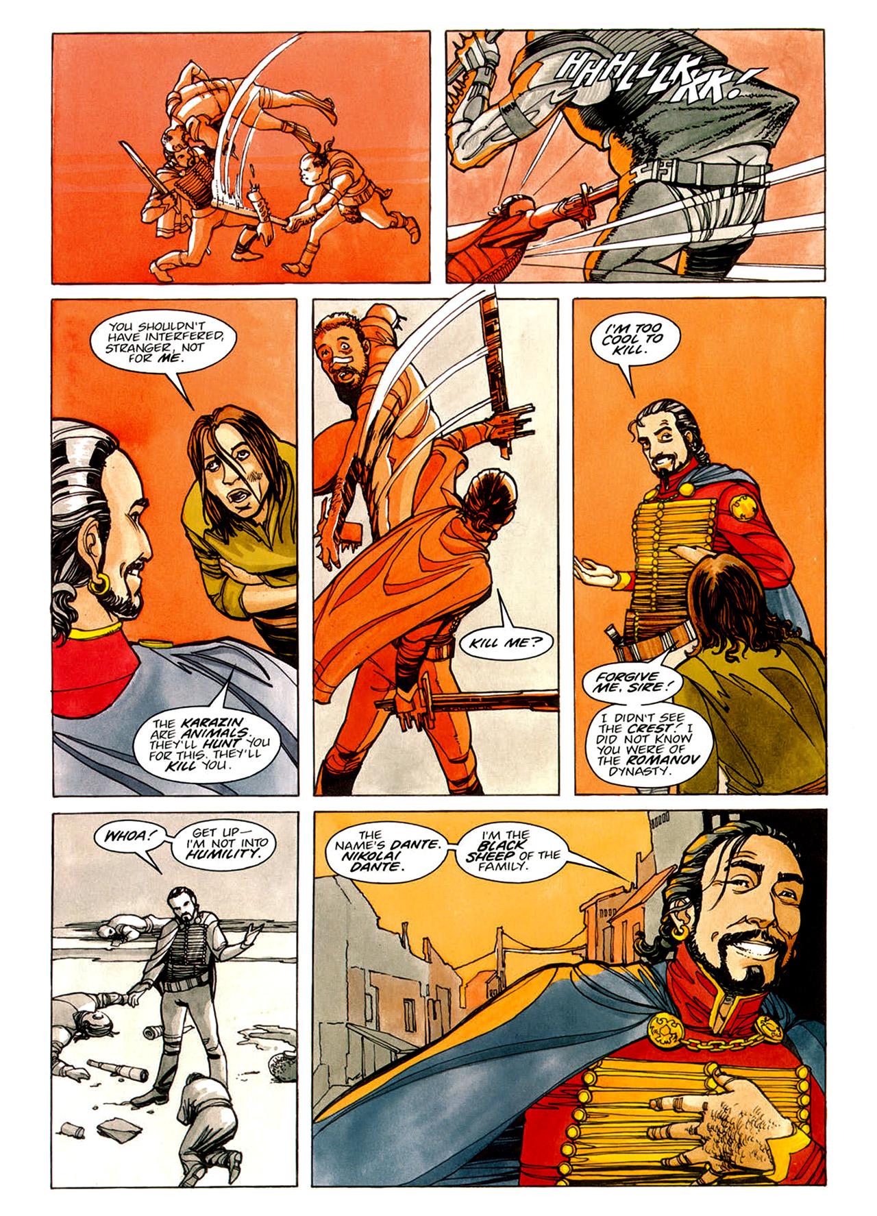 Read online Nikolai Dante comic -  Issue # TPB 1 - 66
