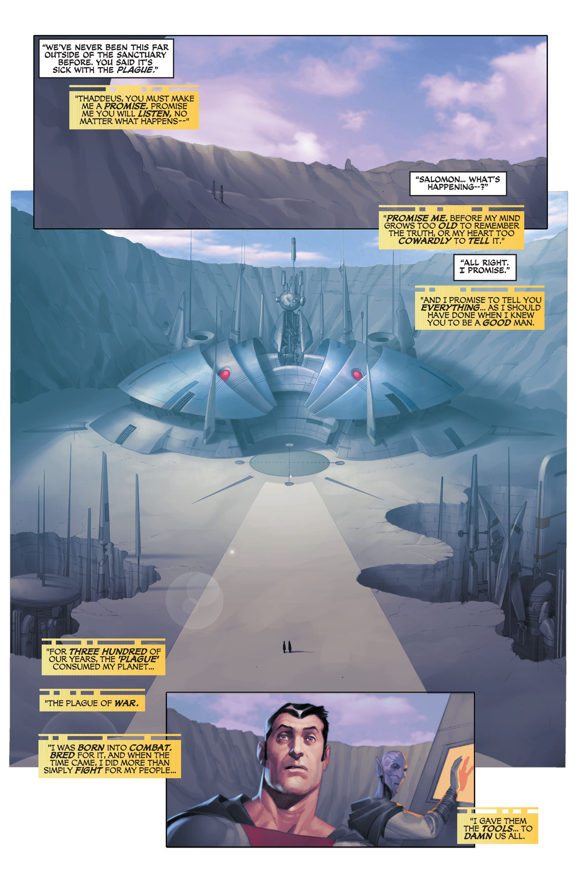 Read online Space Ghost (2016) comic -  Issue # Full - 41