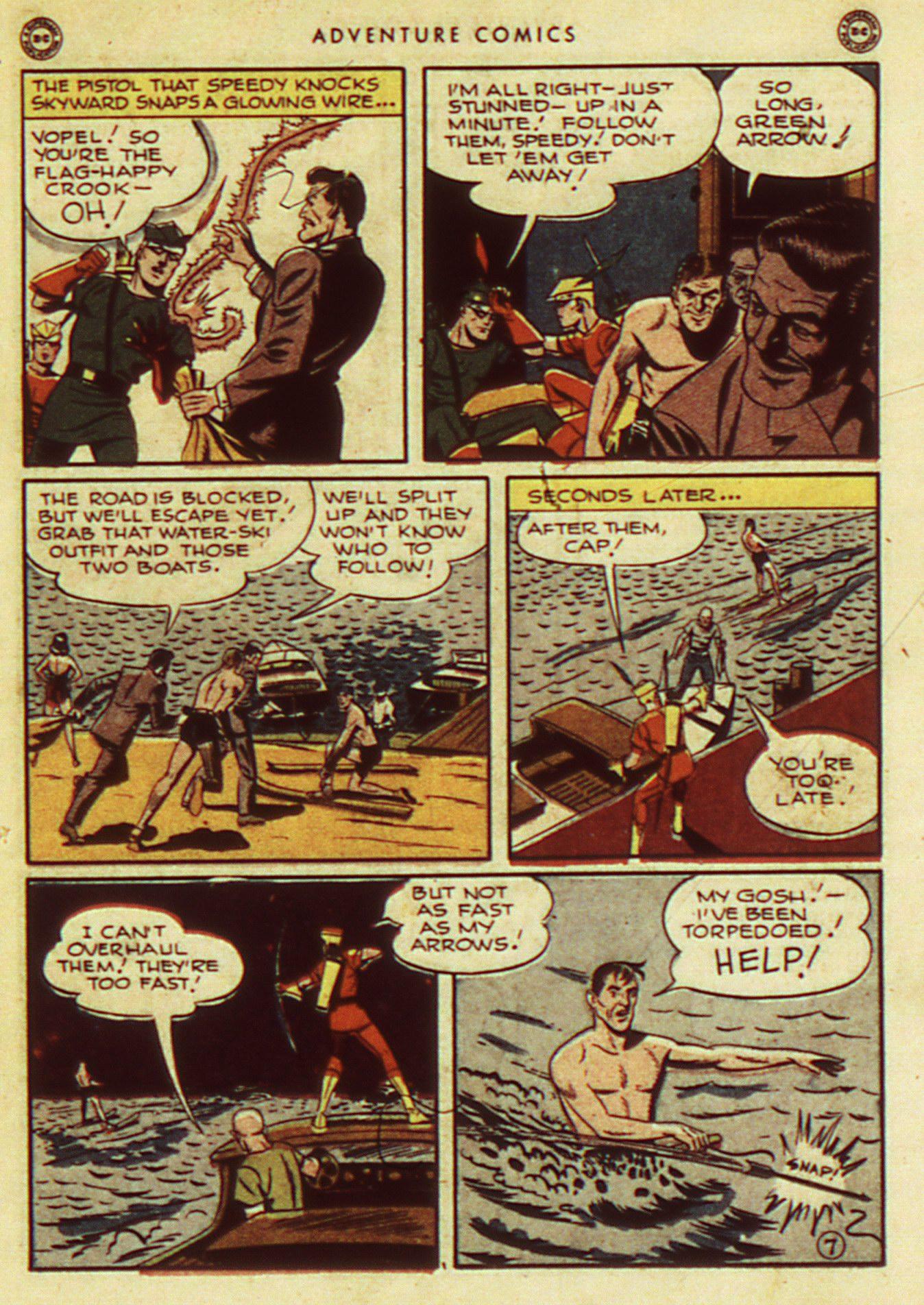 Read online Adventure Comics (1938) comic -  Issue #105 - 17