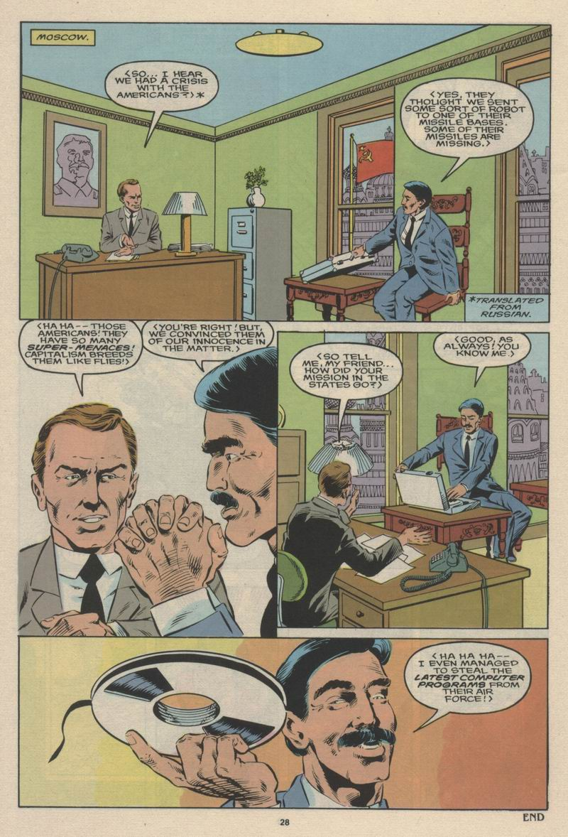 Read online Alpha Flight (1983) comic -  Issue #63 - 30