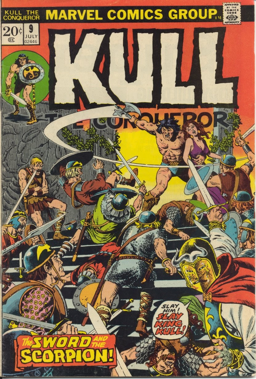 Kull, the Conqueror (1971) issue 9 - Page 1