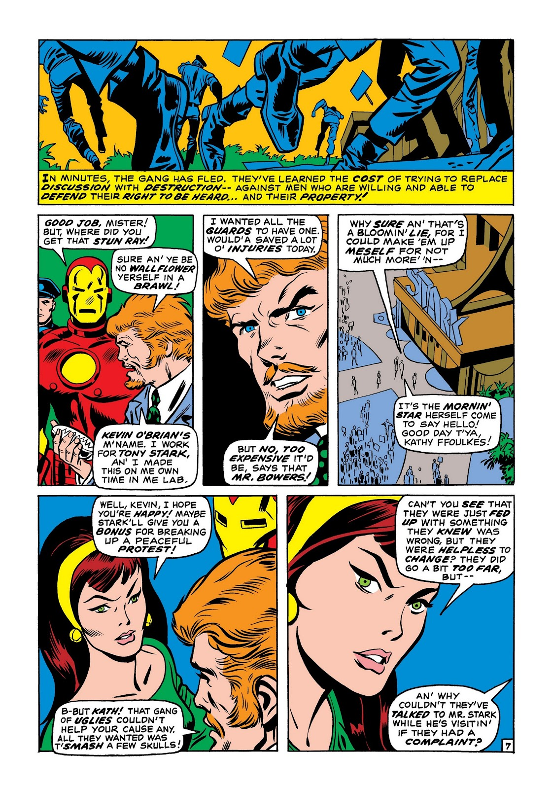Read online Marvel Masterworks: The Invincible Iron Man comic -  Issue # TPB 7 (Part 2) - 16