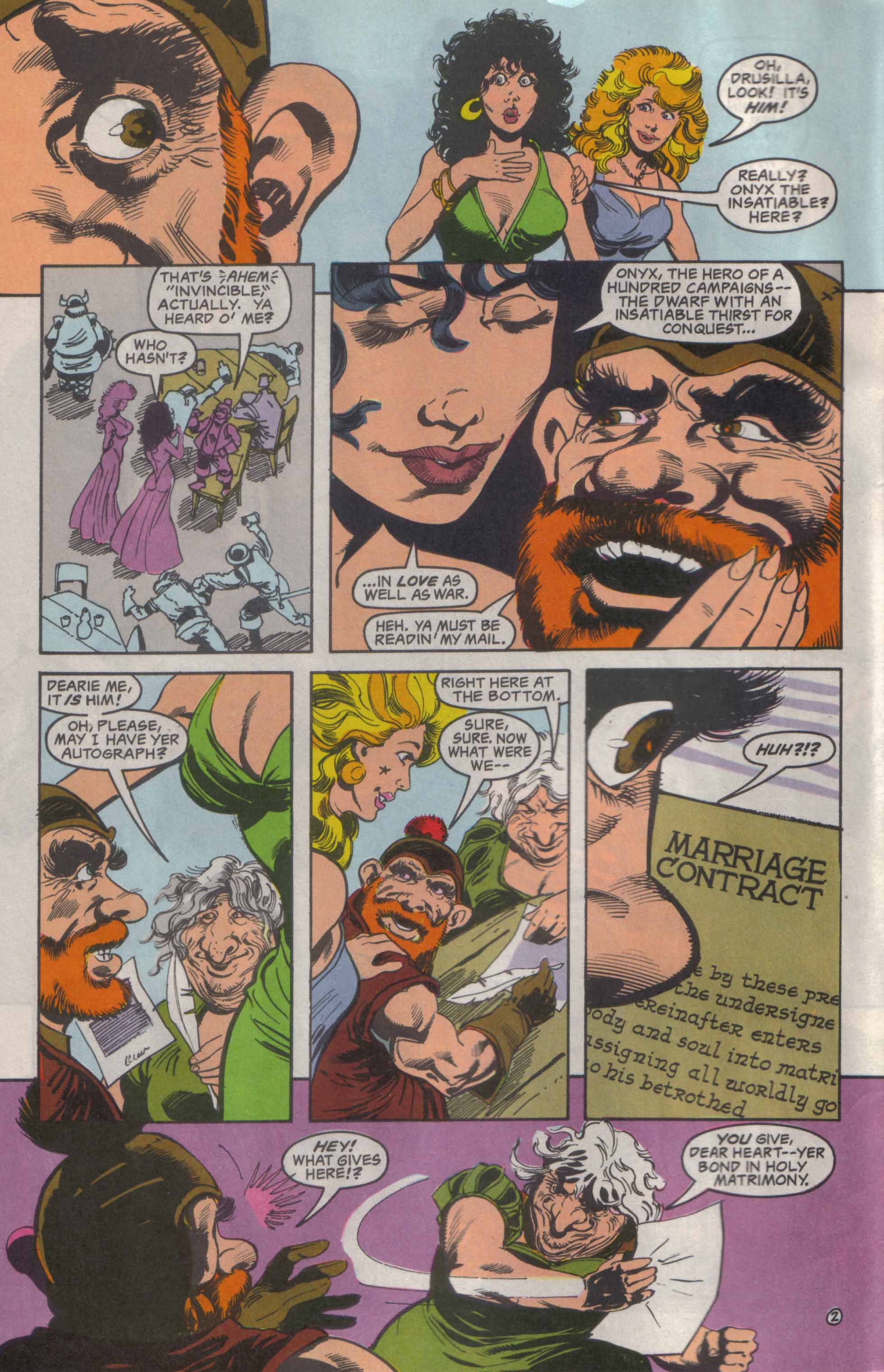 Read online Advanced Dungeons & Dragons comic -  Issue #23 - 3