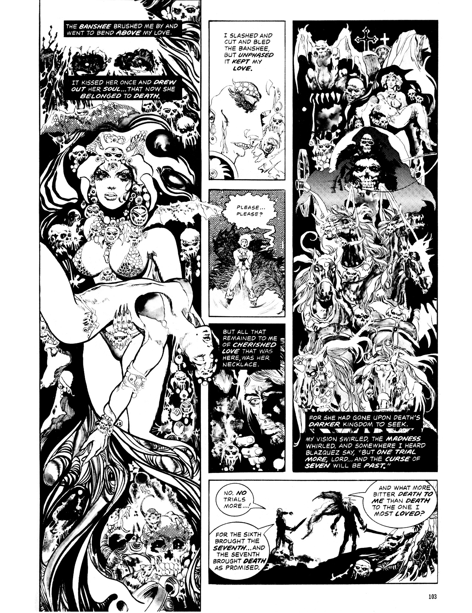 Read online Eerie Archives comic -  Issue # TPB 14 - 104