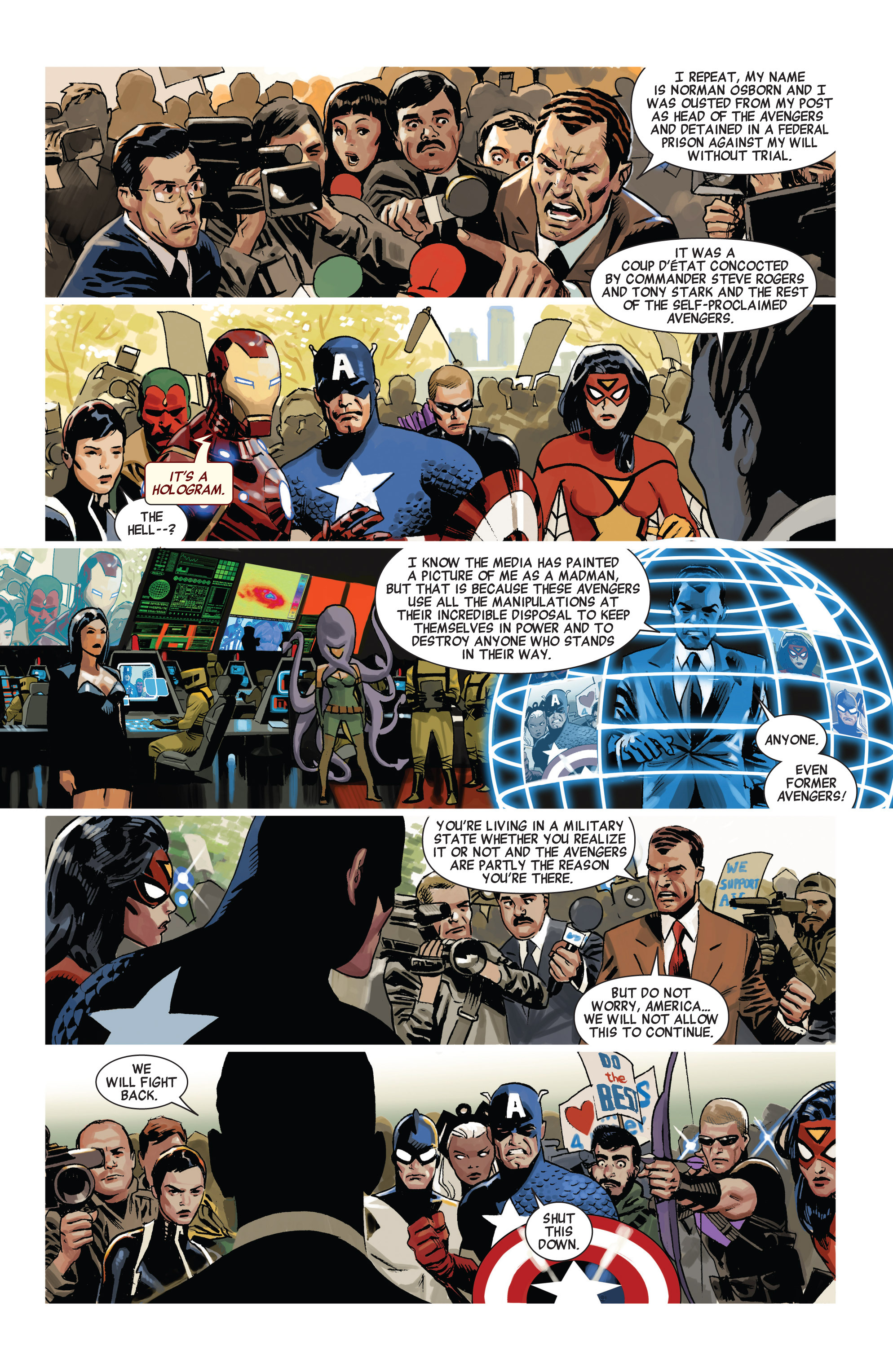Read online Avengers (2010) comic -  Issue #20 - 5