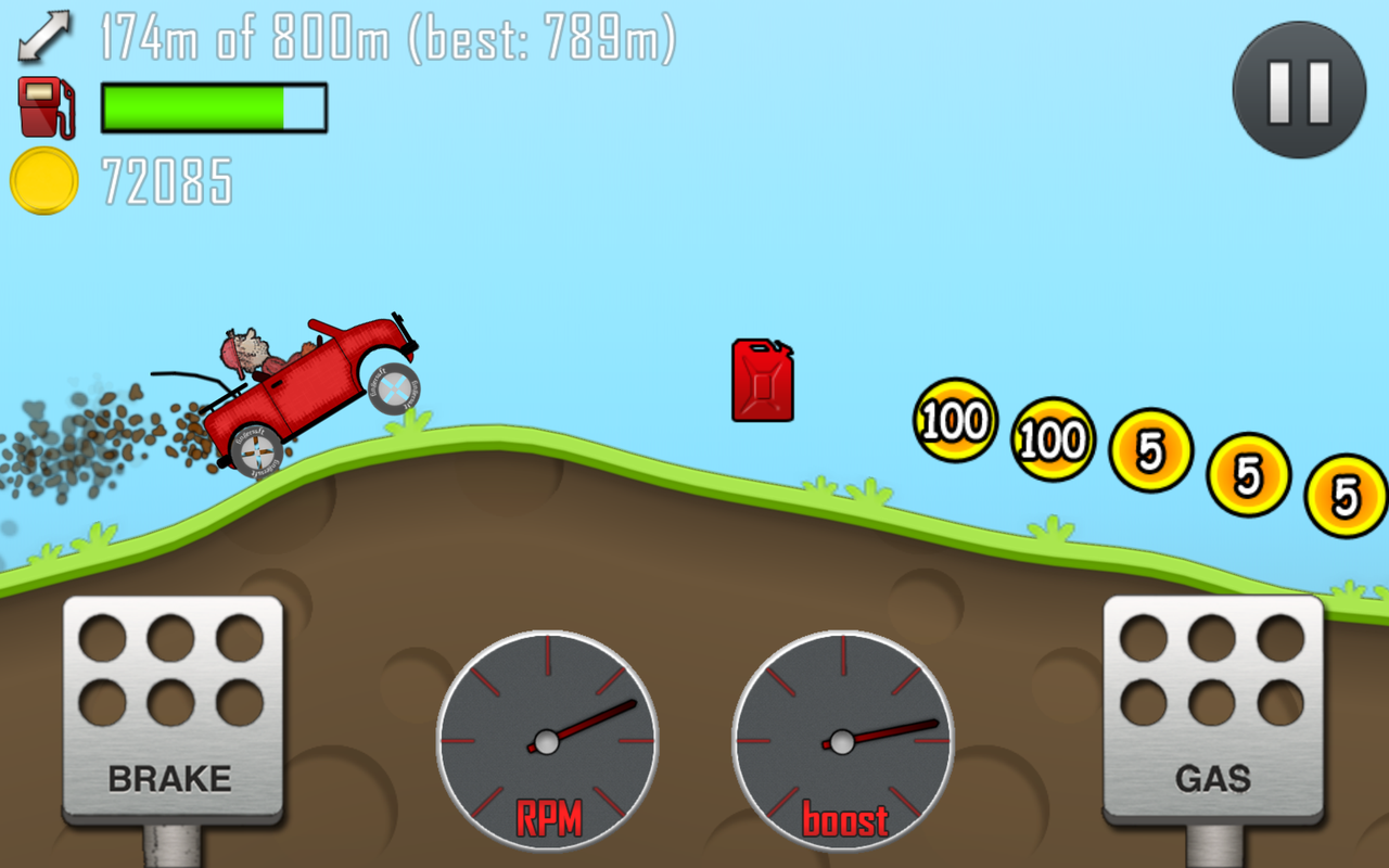 Download Hill Climb Racing Torrent Android APK 2013