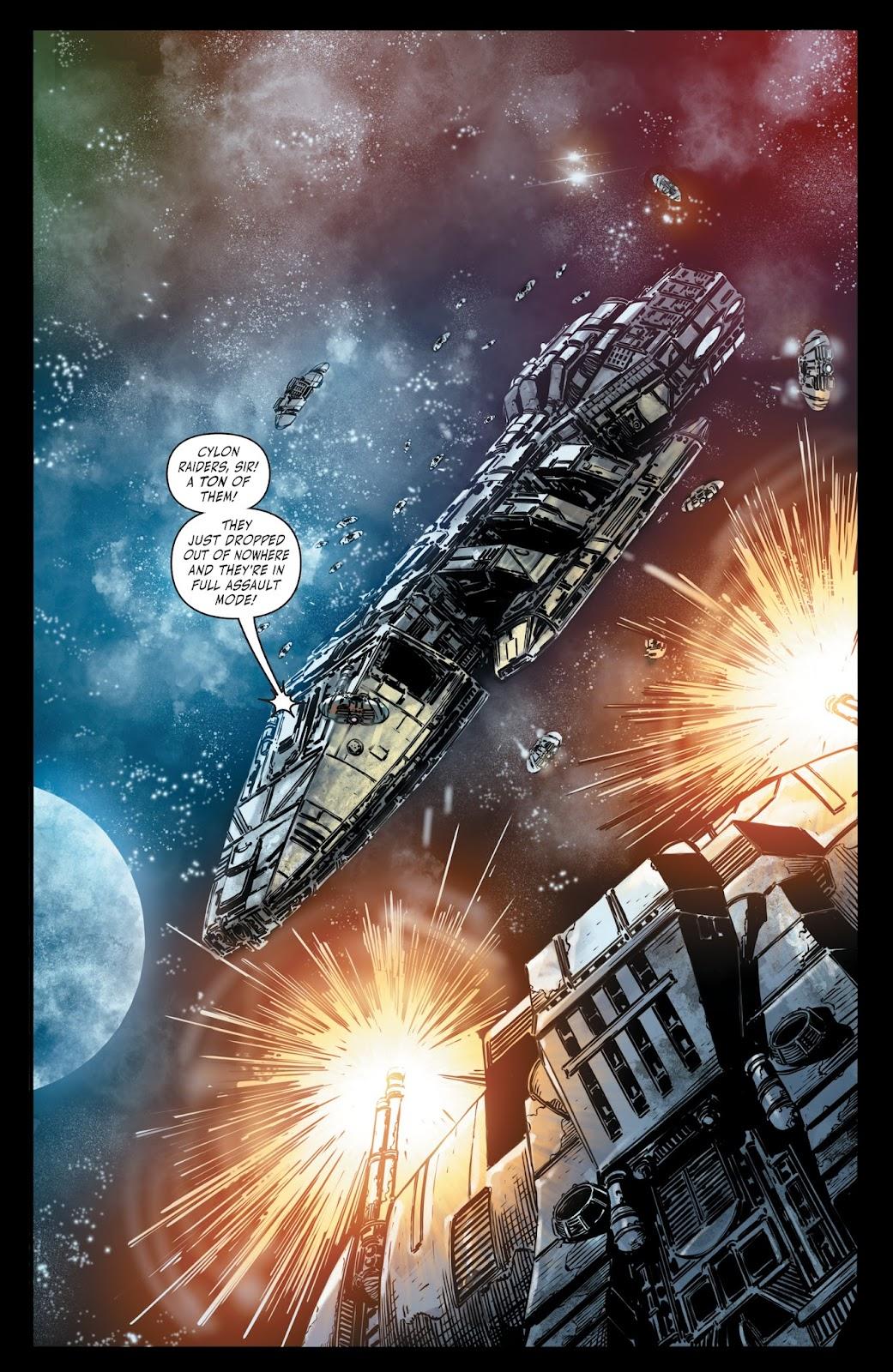 Battlestar Galactica BSG vs. BSG issue 1 - Page 14