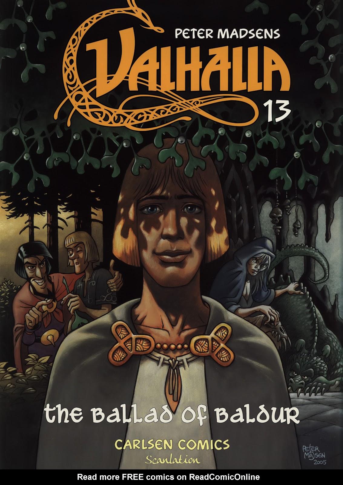 Valhalla issue 13 - Page 1