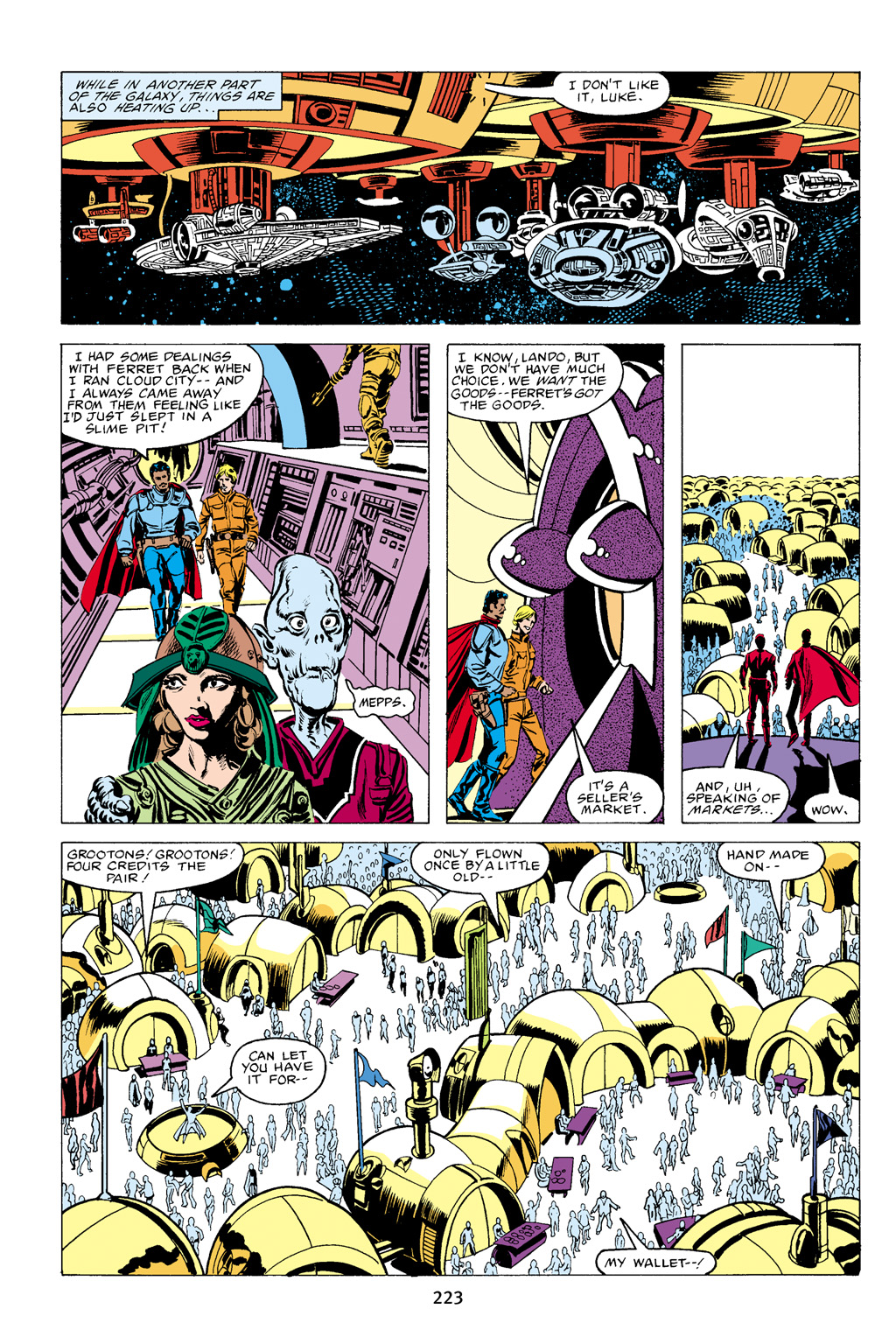 Read online Star Wars Omnibus comic -  Issue # Vol. 16 - 220