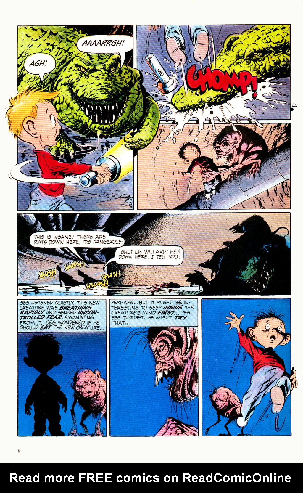 Read online Twisted Tales (1982) comic -  Issue #8 - 10