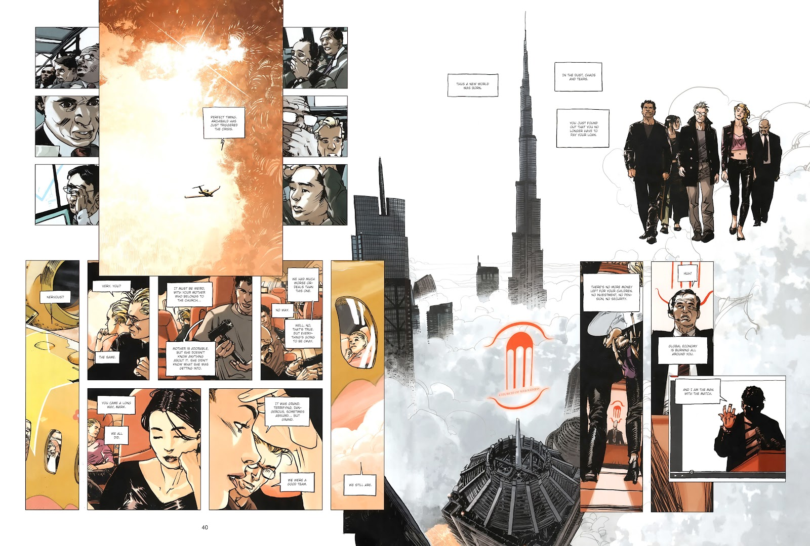 Read online Cutting Edge (2013) comic -  Issue #4 - 30