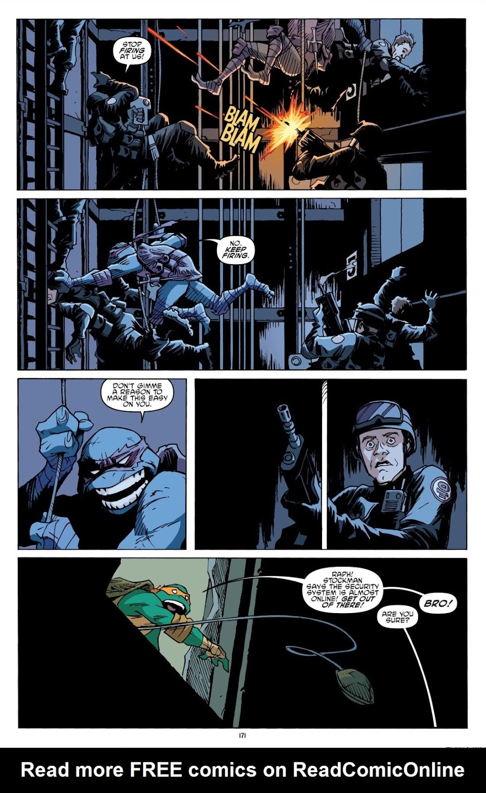 Read online Teenage Mutant Ninja Turtles: The IDW Collection comic -  Issue # TPB 8 (Part 2) - 70