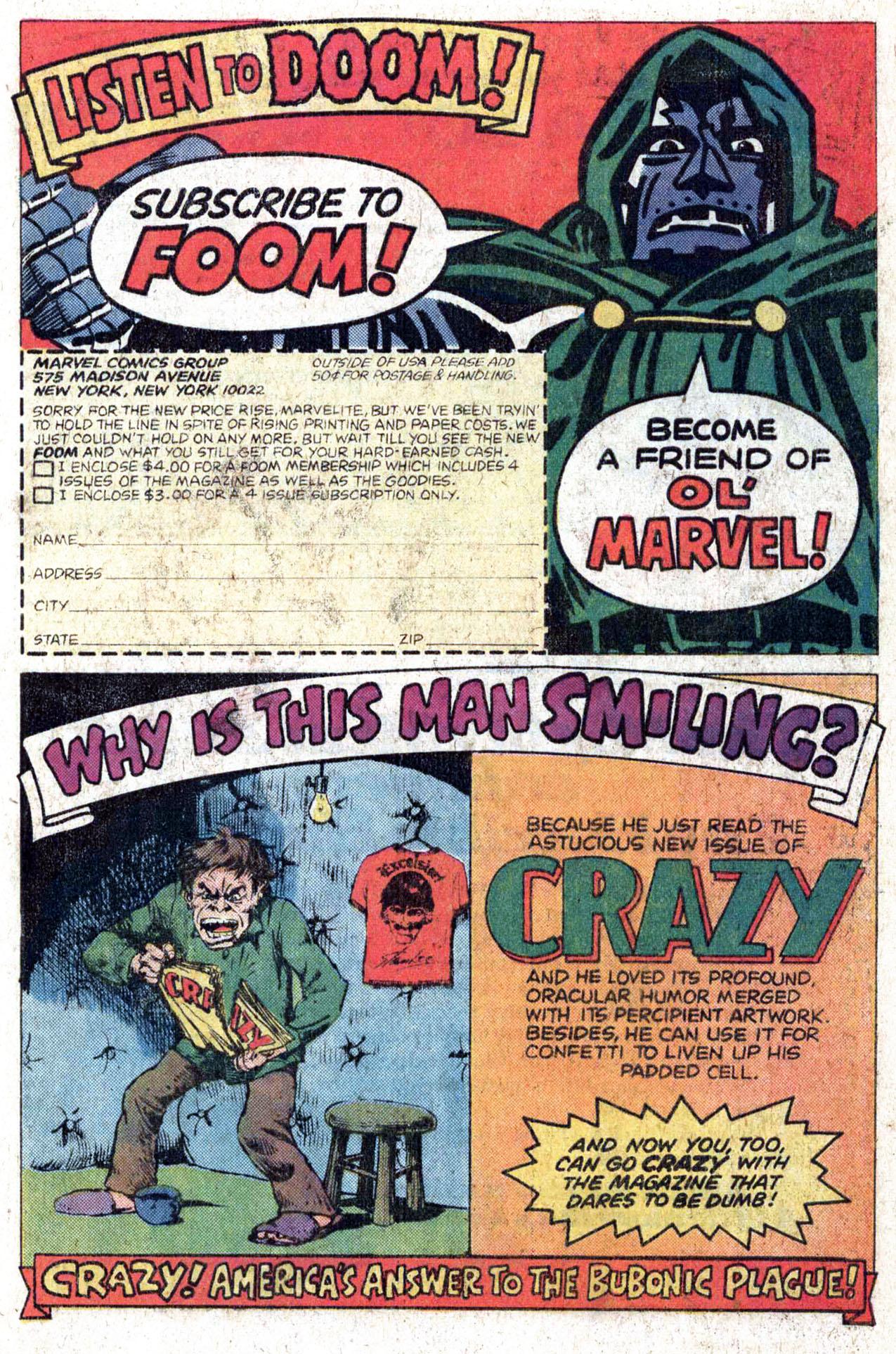 Read online Amazing Adventures (1970) comic -  Issue #38 - 21