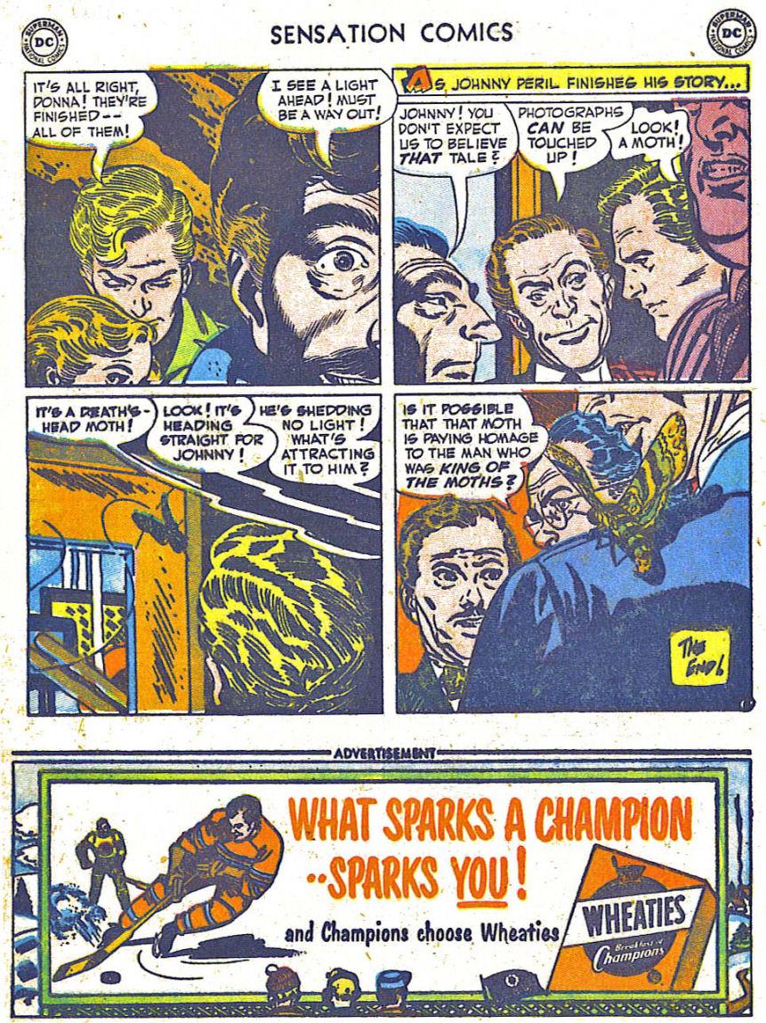 Read online Sensation (Mystery) Comics comic -  Issue #108 - 20