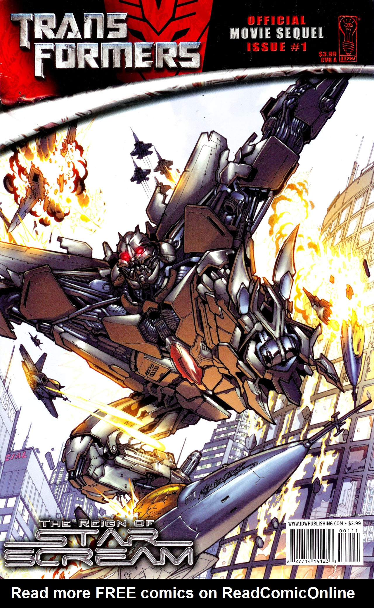 Read online Transformers: The Reign of Starscream comic -  Issue #1 - 1
