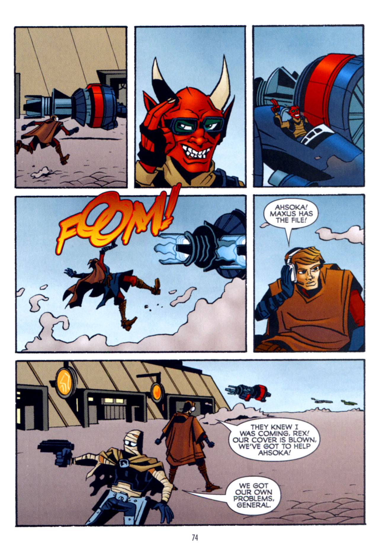 Read online Star Wars: The Clone Wars - Crash Course comic -  Issue # Full - 75