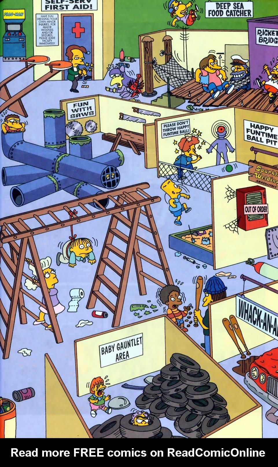 Read online Simpsons Comics comic -  Issue #50 - 70