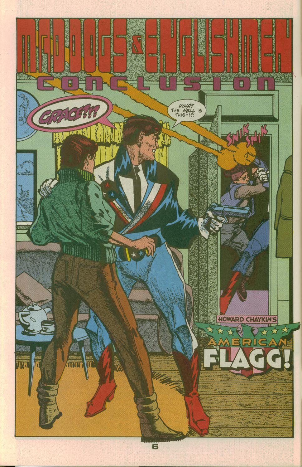 Read online American Flagg! comic -  Issue #26 - 8