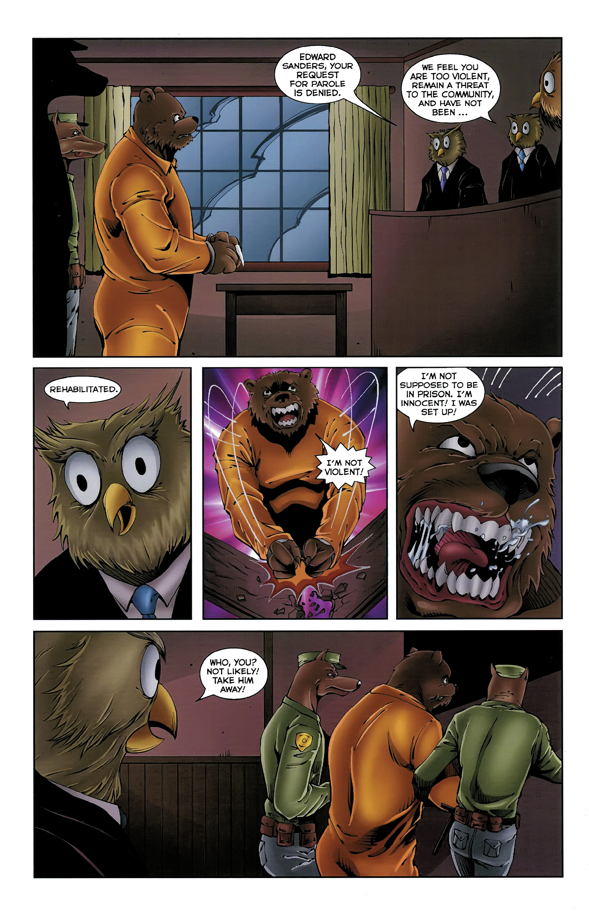 Read online Dead Pooh comic -  Issue #3 - 9