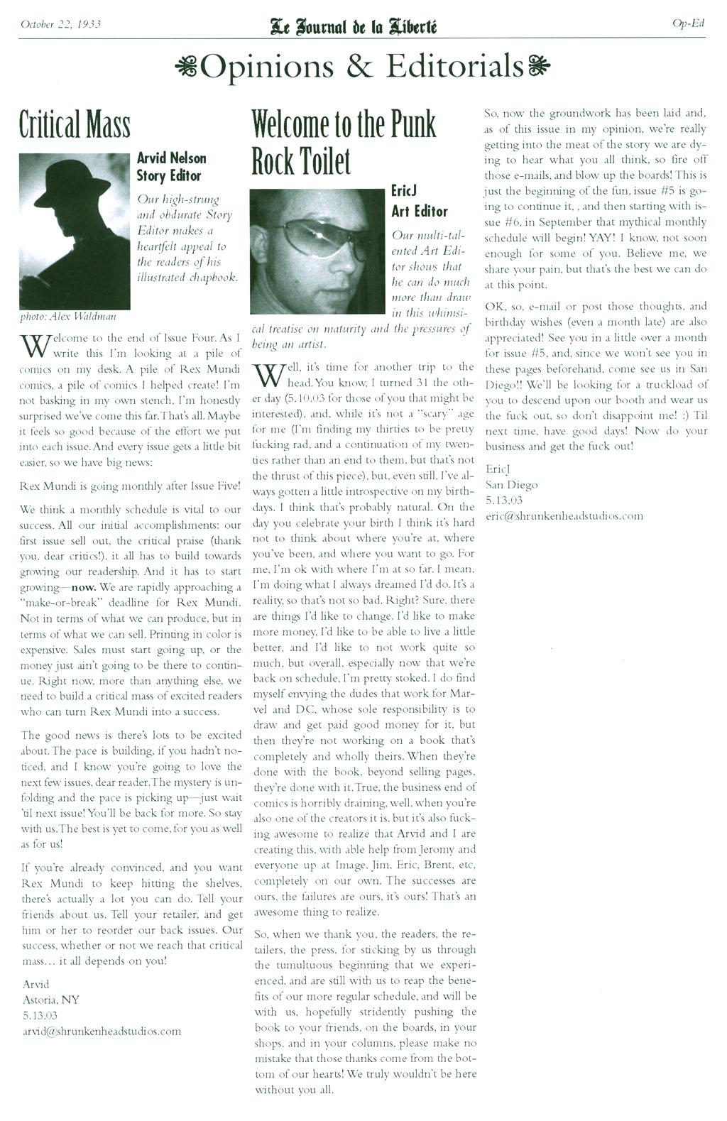 Read online Rex Mundi comic -  Issue #4 - 26