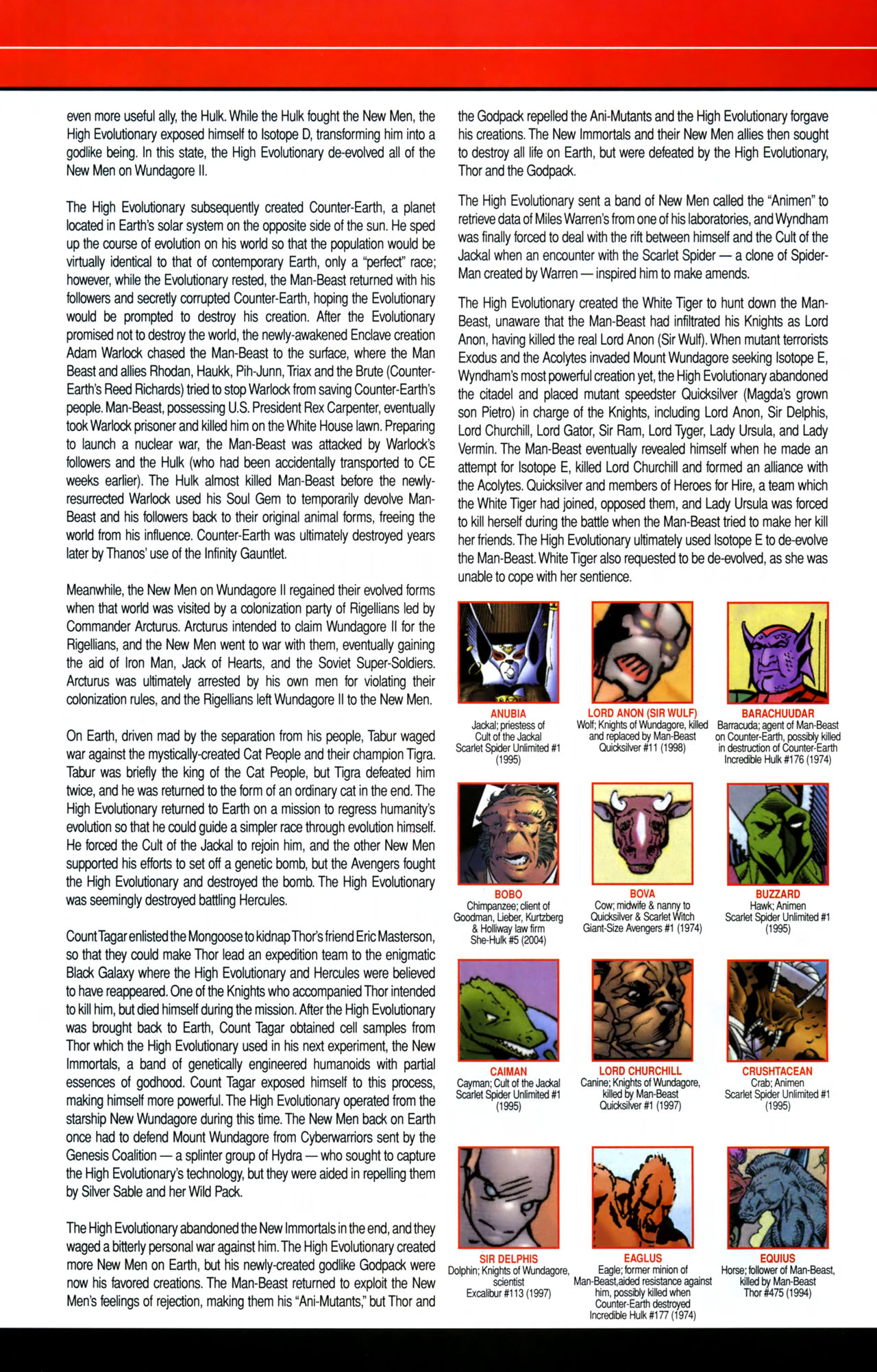 Read online All-New Official Handbook of the Marvel Universe A to Z comic -  Issue #8 - 6