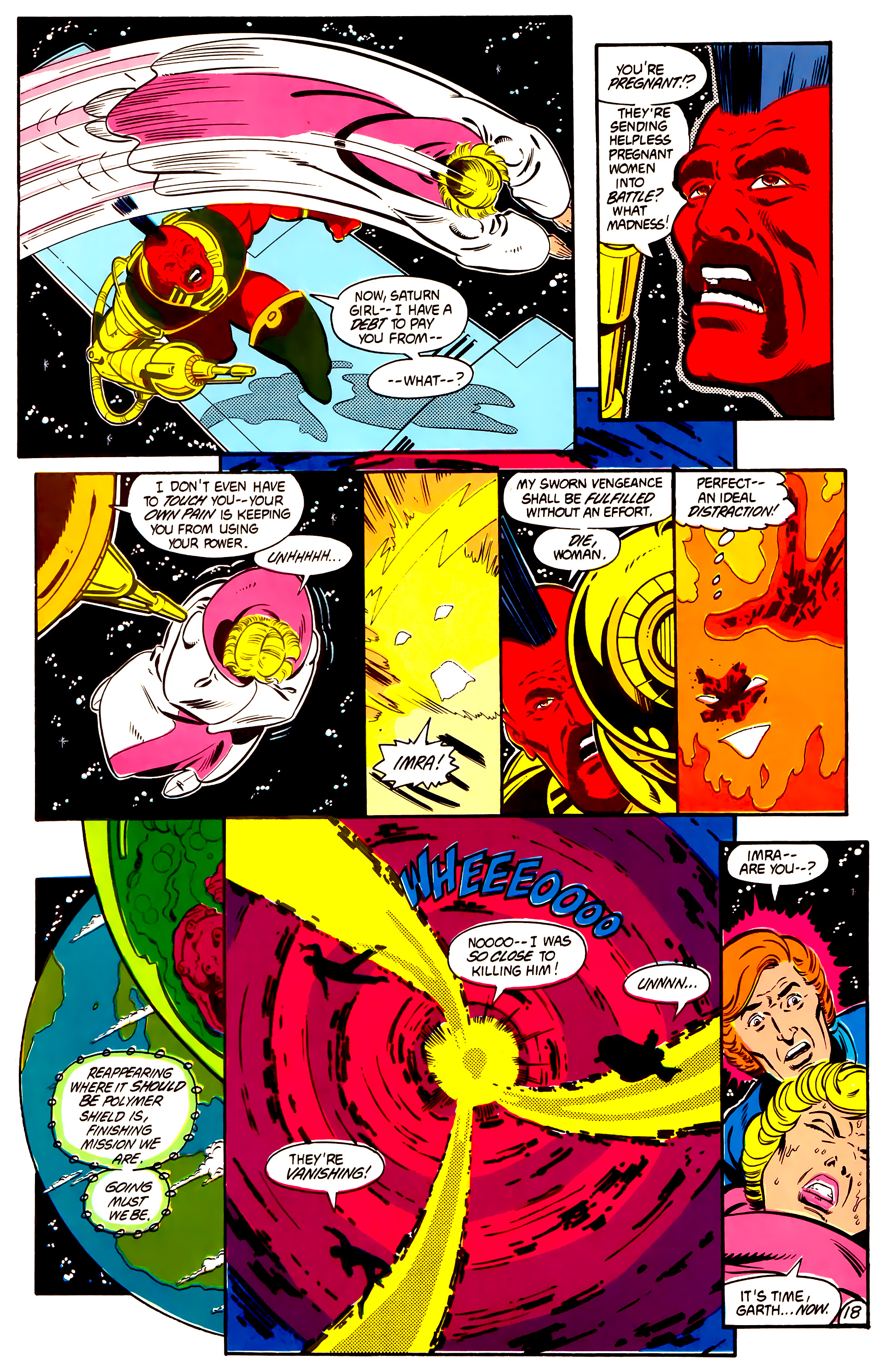 Legion of Super-Heroes (1984) 2 Page 19