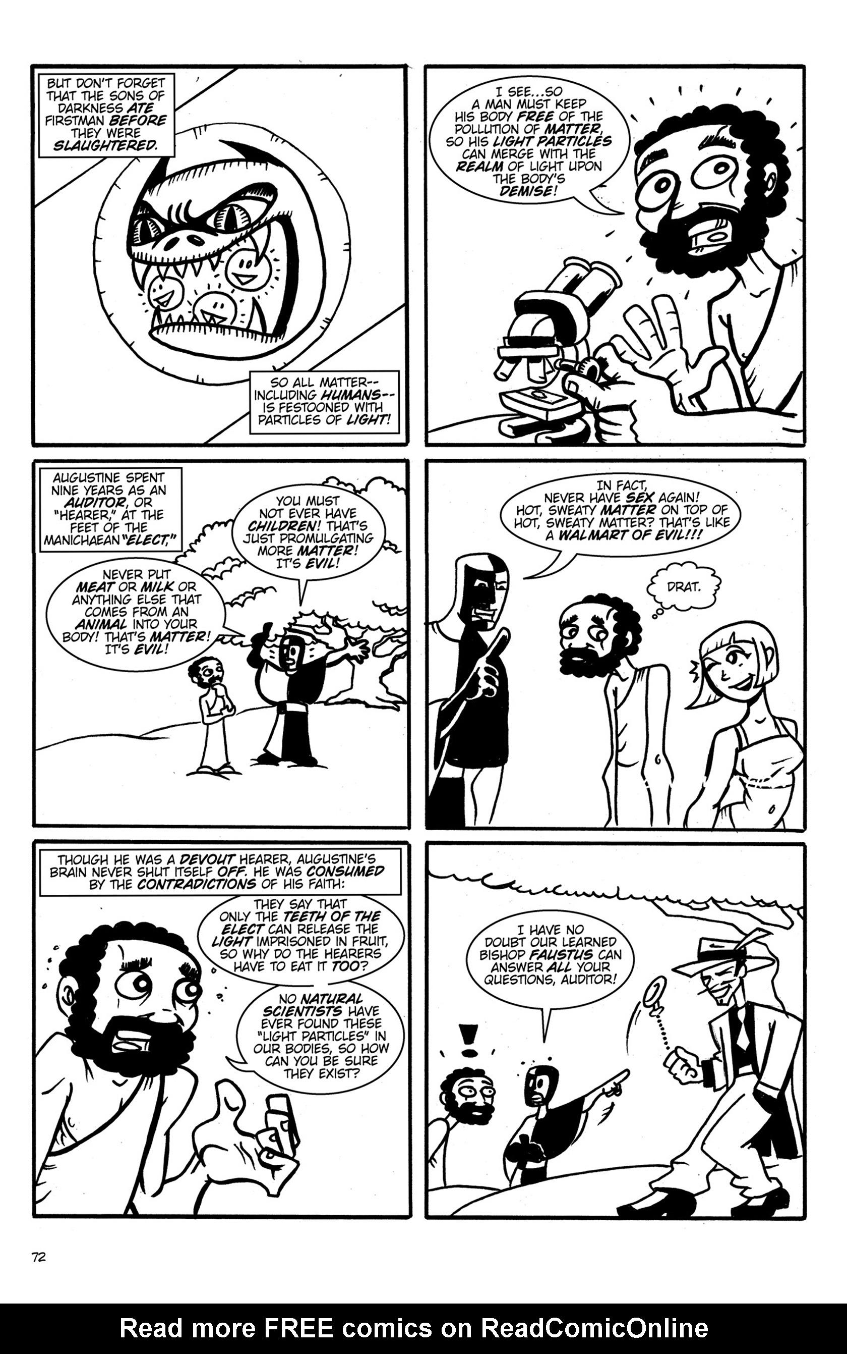 Read online Action Philosophers! comic -  Issue #Action Philosophers! TPB (Part 1) - 72