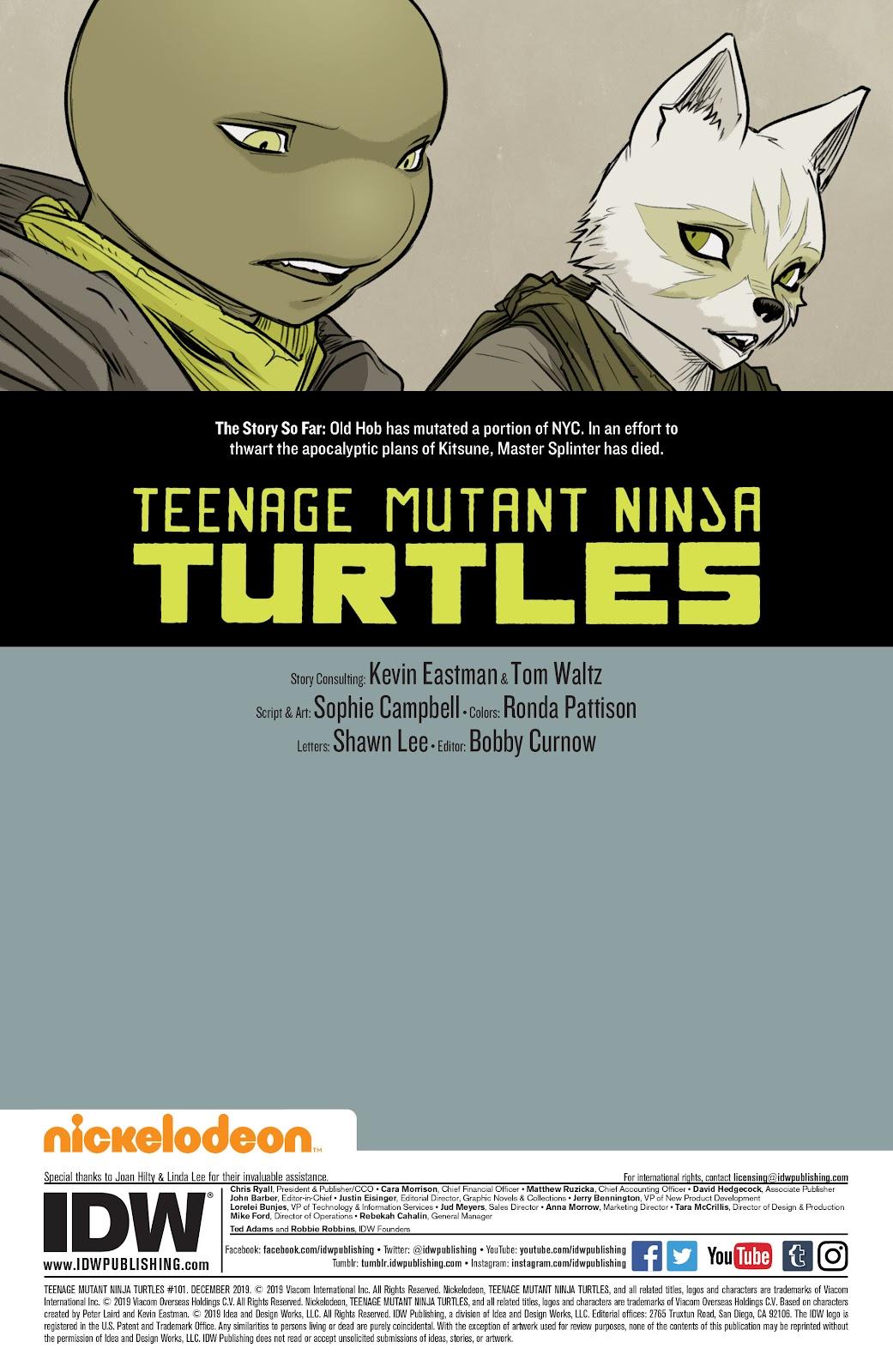 Read online Teenage Mutant Ninja Turtles (2011) comic -  Issue #101 - 2