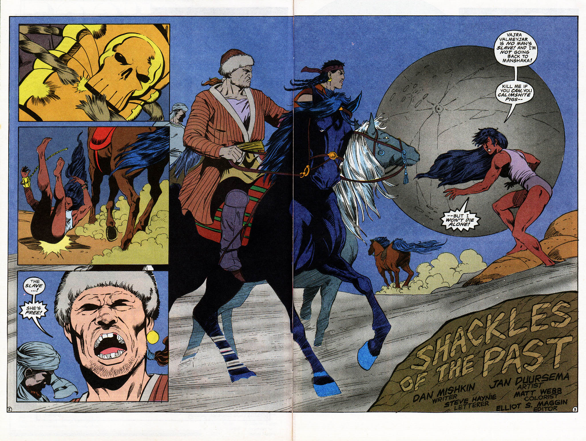Read online Advanced Dungeons & Dragons comic -  Issue #13 - 4