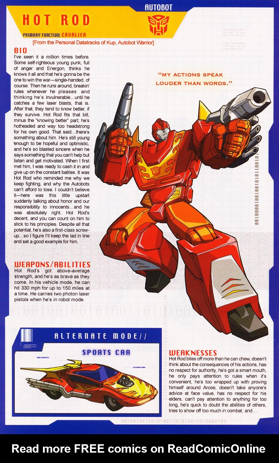 Read online Transformers: More than Meets the Eye comic -  Issue #3 - 30