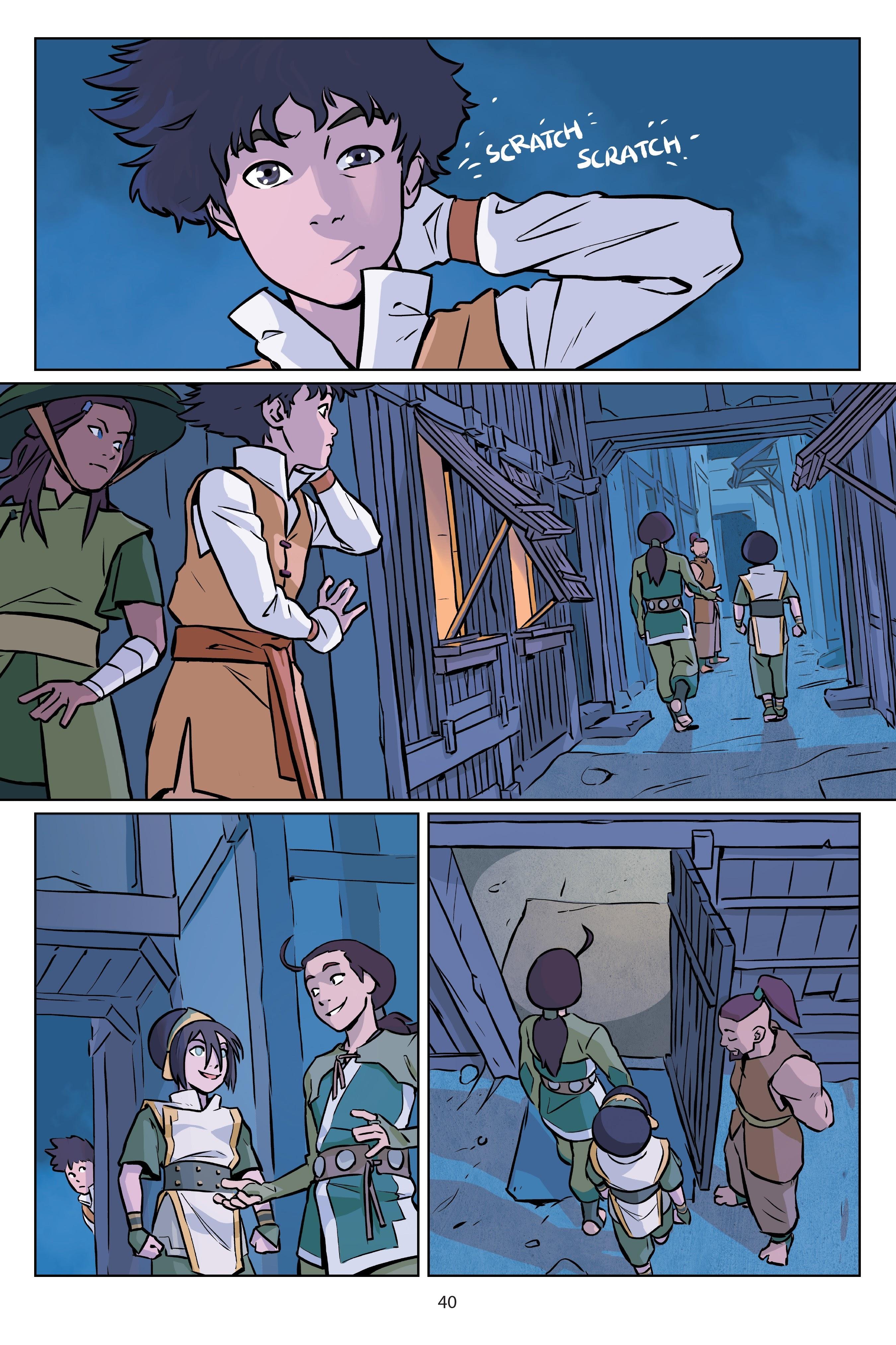 Nickelodeon Avatar: The Last Airbender - Imbalance TPB_2 Page 40