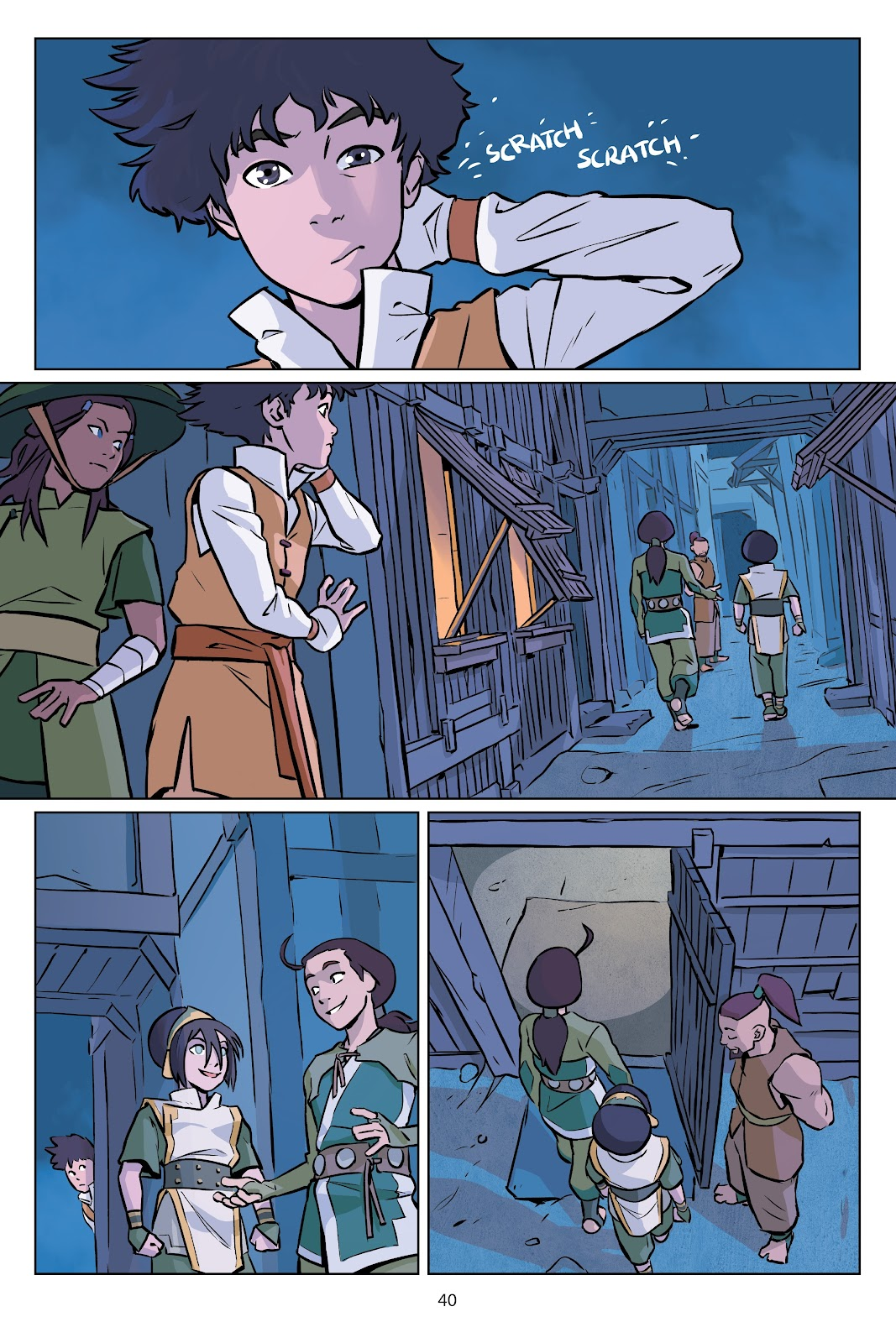 Read online Nickelodeon Avatar: The Last Airbender - Imbalance comic -  Issue # TPB 2 - 41