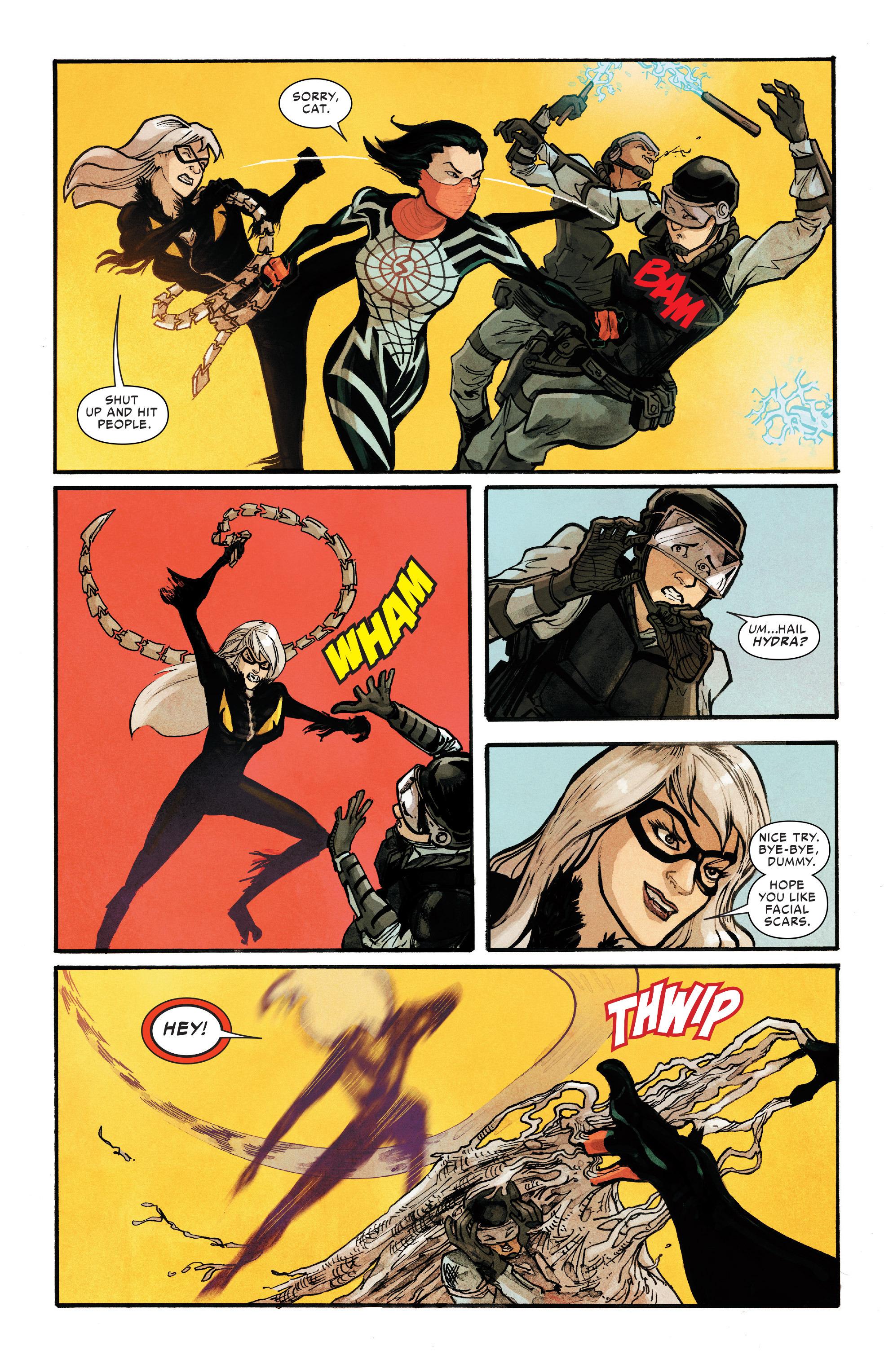 Read online Silk (2016) comic -  Issue #8 - 17