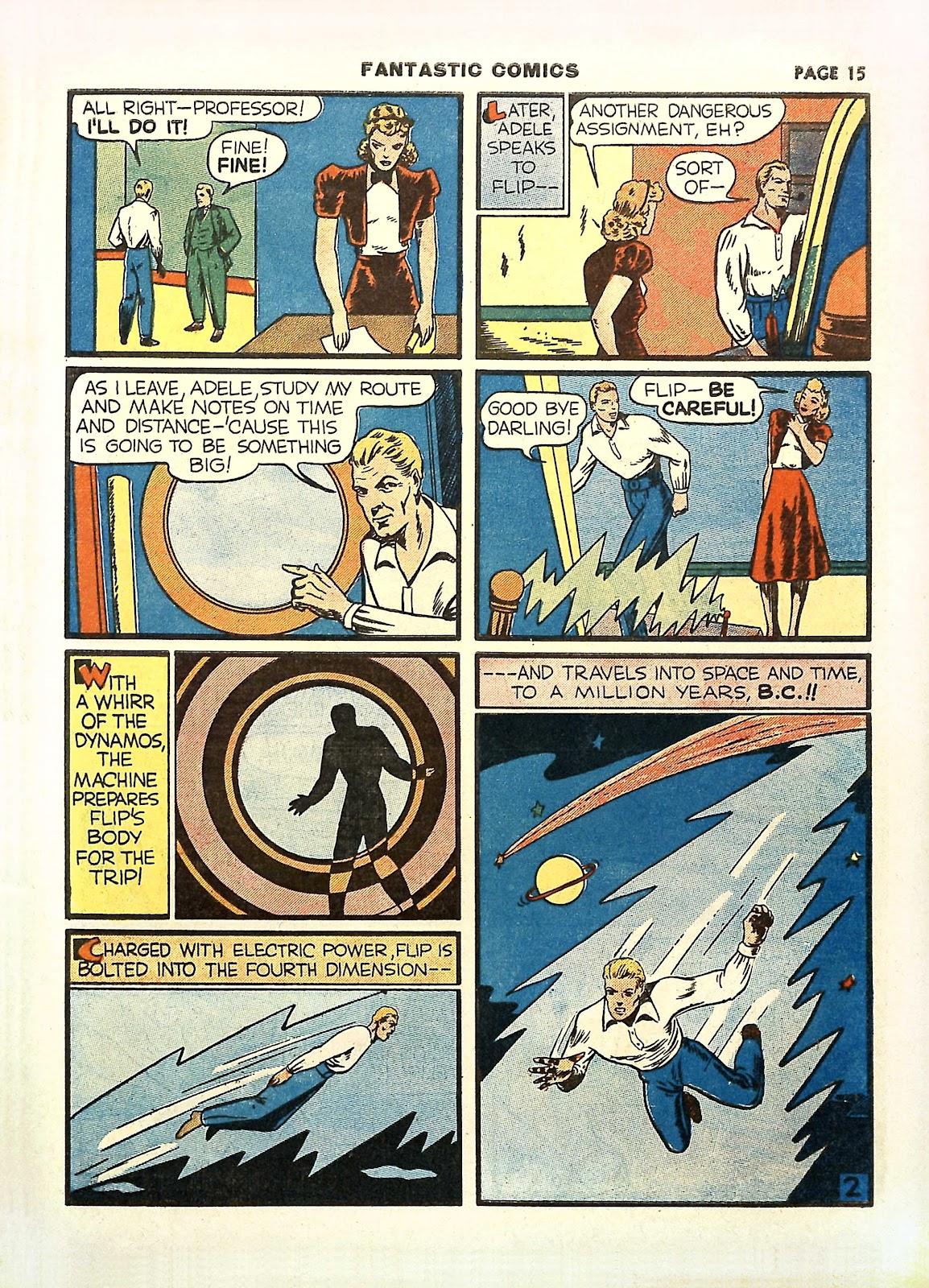 Read online Fantastic Comics comic -  Issue #11 - 18