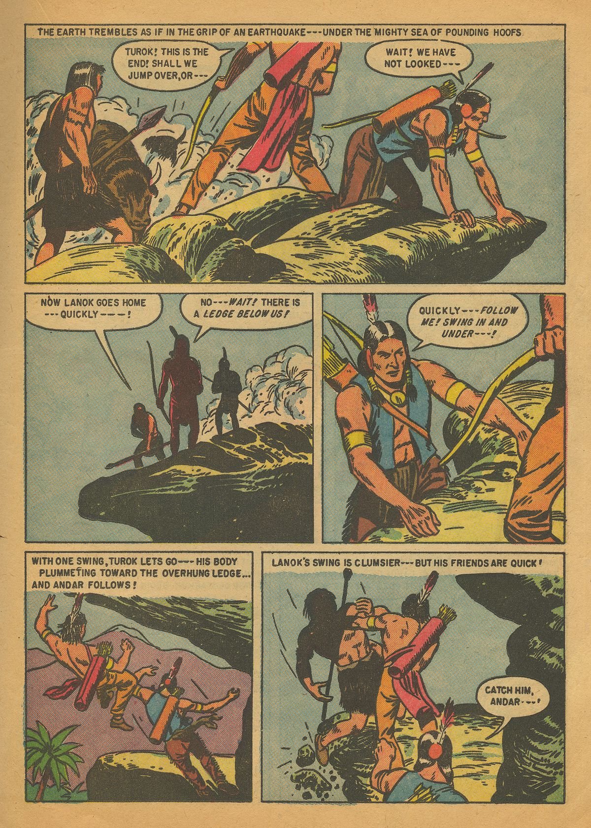 Read online Turok, Son of Stone comic -  Issue #4 - 17