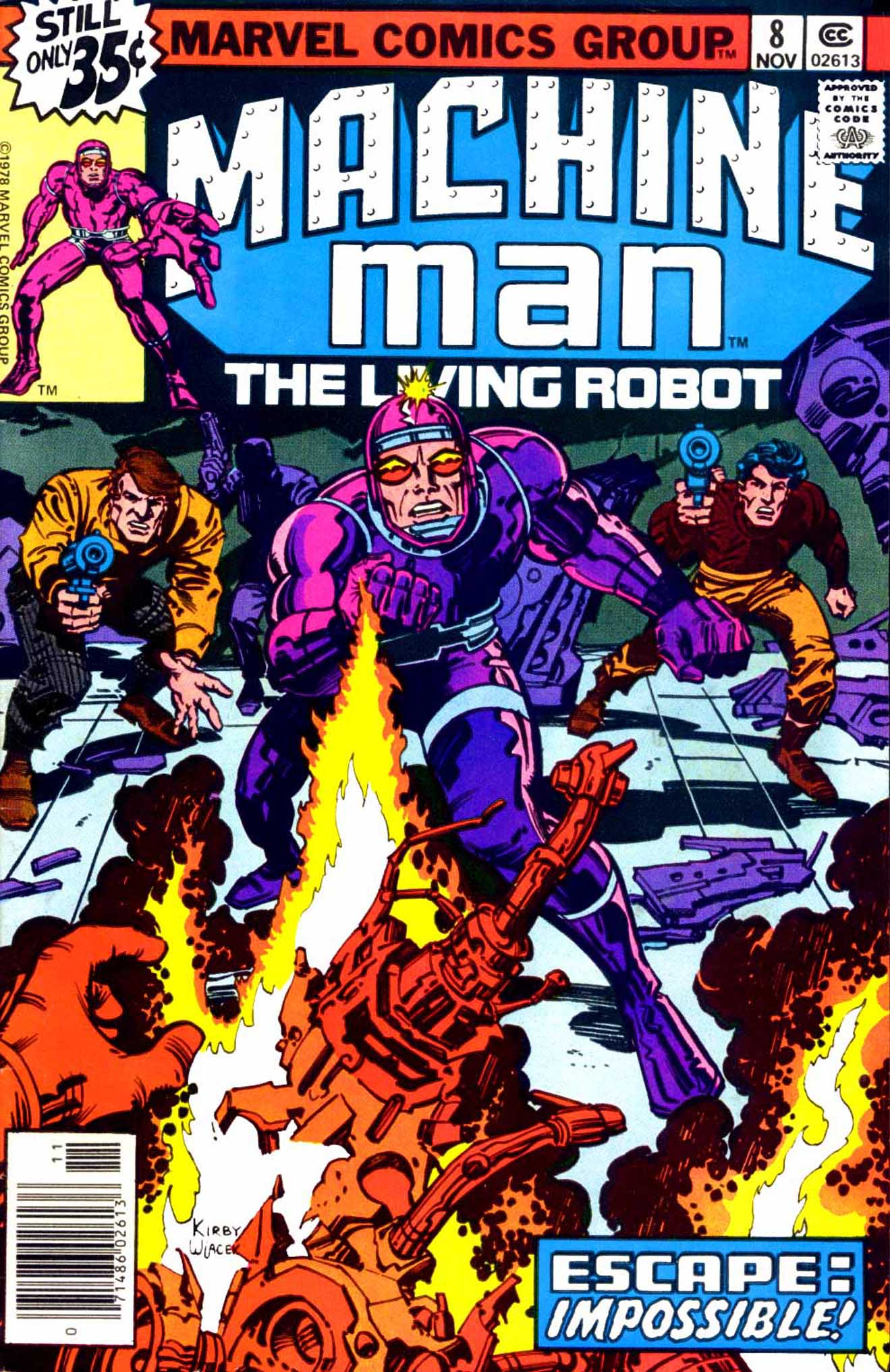 Machine Man (1978) issue 8 - Page 1