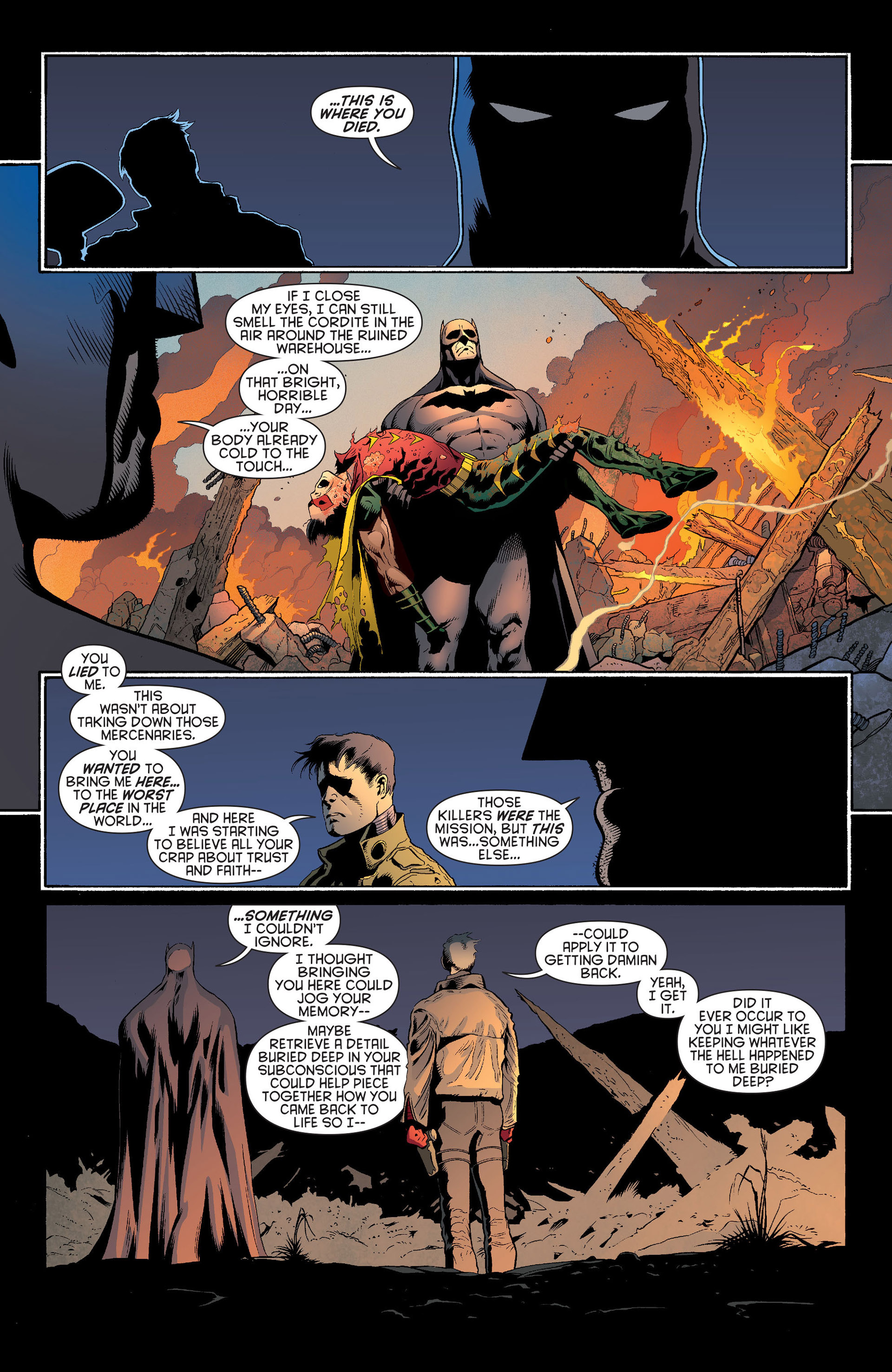 Read online Batman and Robin (2011) comic -  Issue #20 - 17