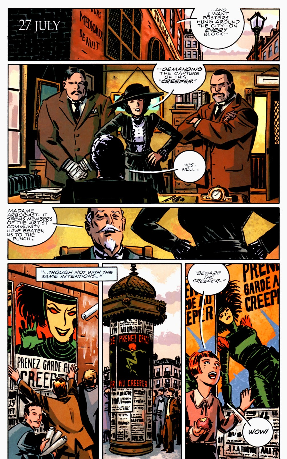Read online Beware The Creeper (2003) comic -  Issue #3 - 5