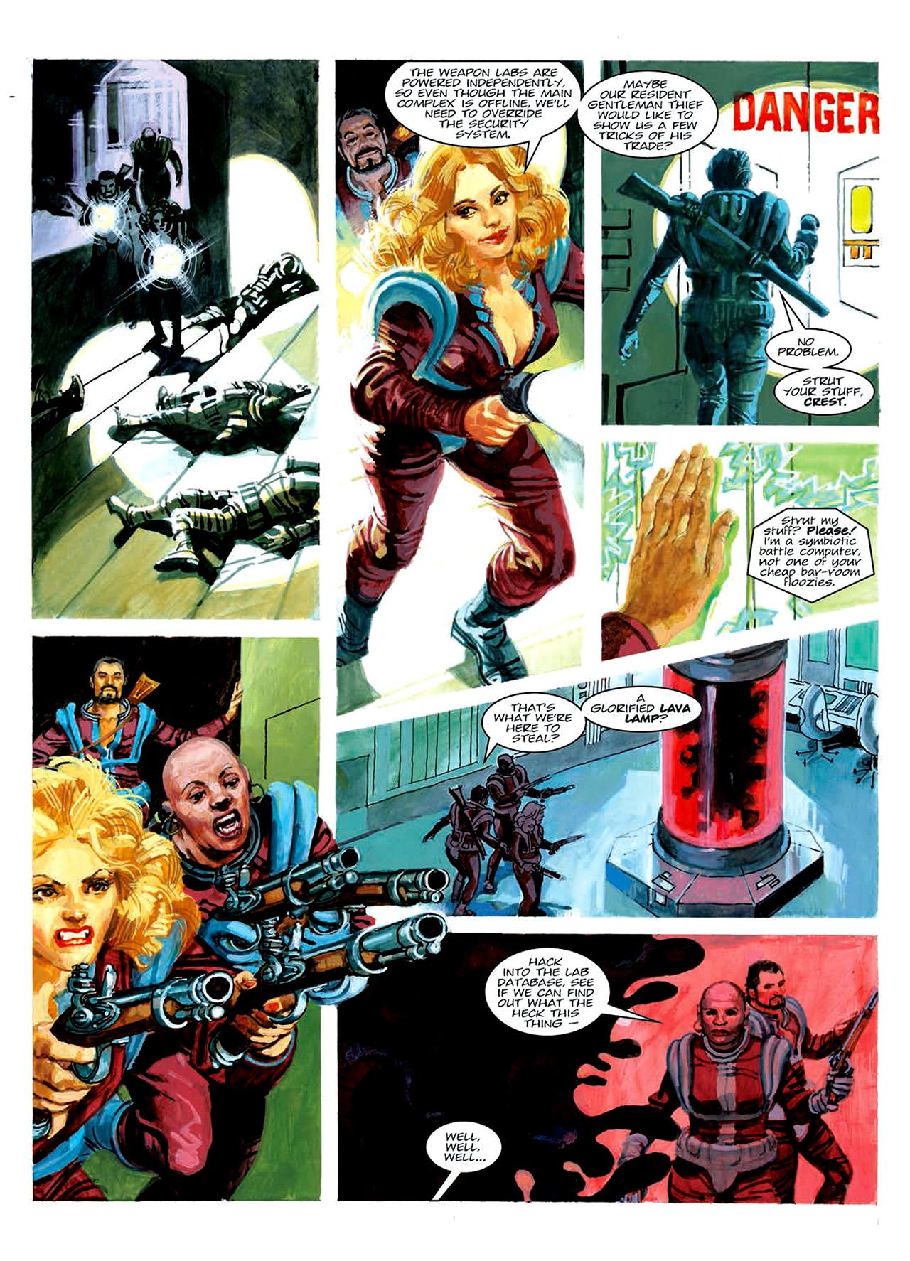Read online Nikolai Dante comic -  Issue # TPB 6 - 176