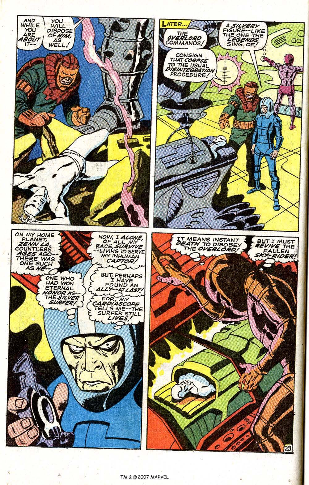 Read online Silver Surfer (1968) comic -  Issue #6 - 36